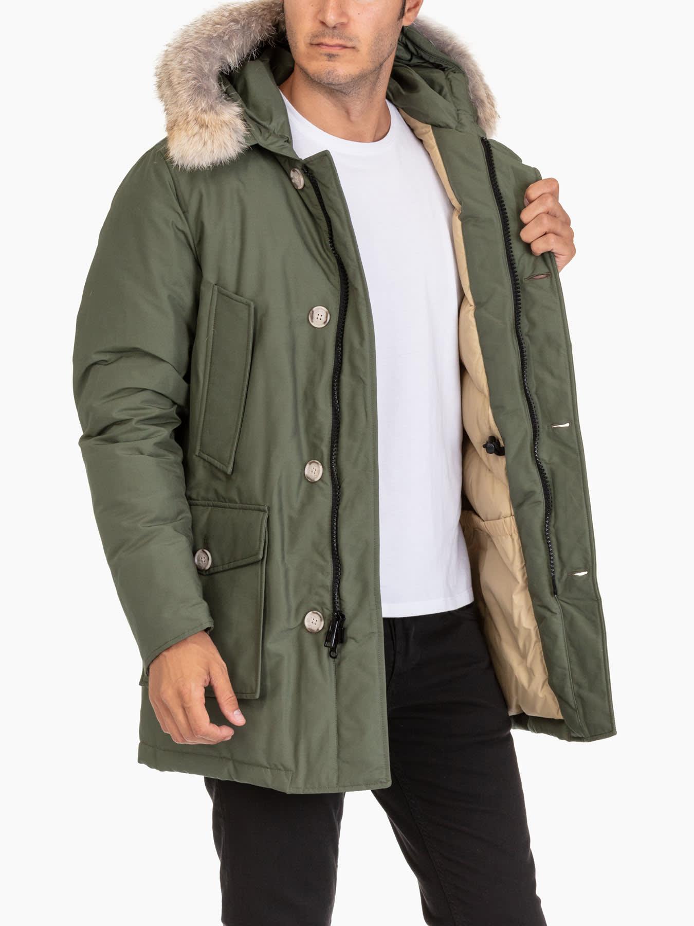 Woolrich Woolrich Arctic Parka Df Green 11131011   italist