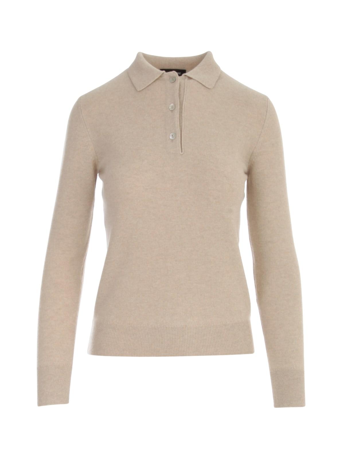 Polo Neck L/s Sweater