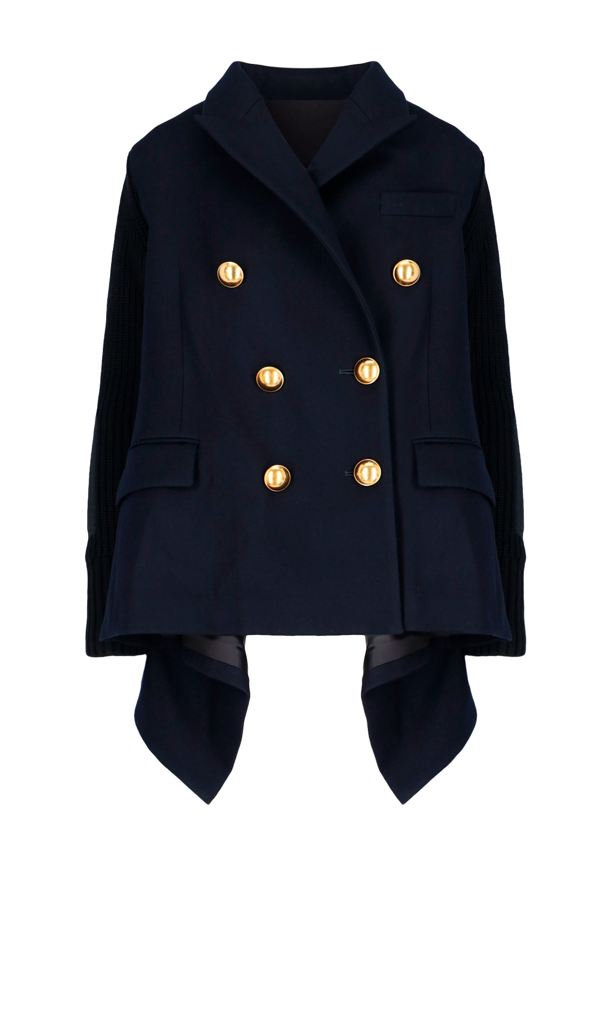 Sacai DOUBLE BREASTED MILITARY JACKET