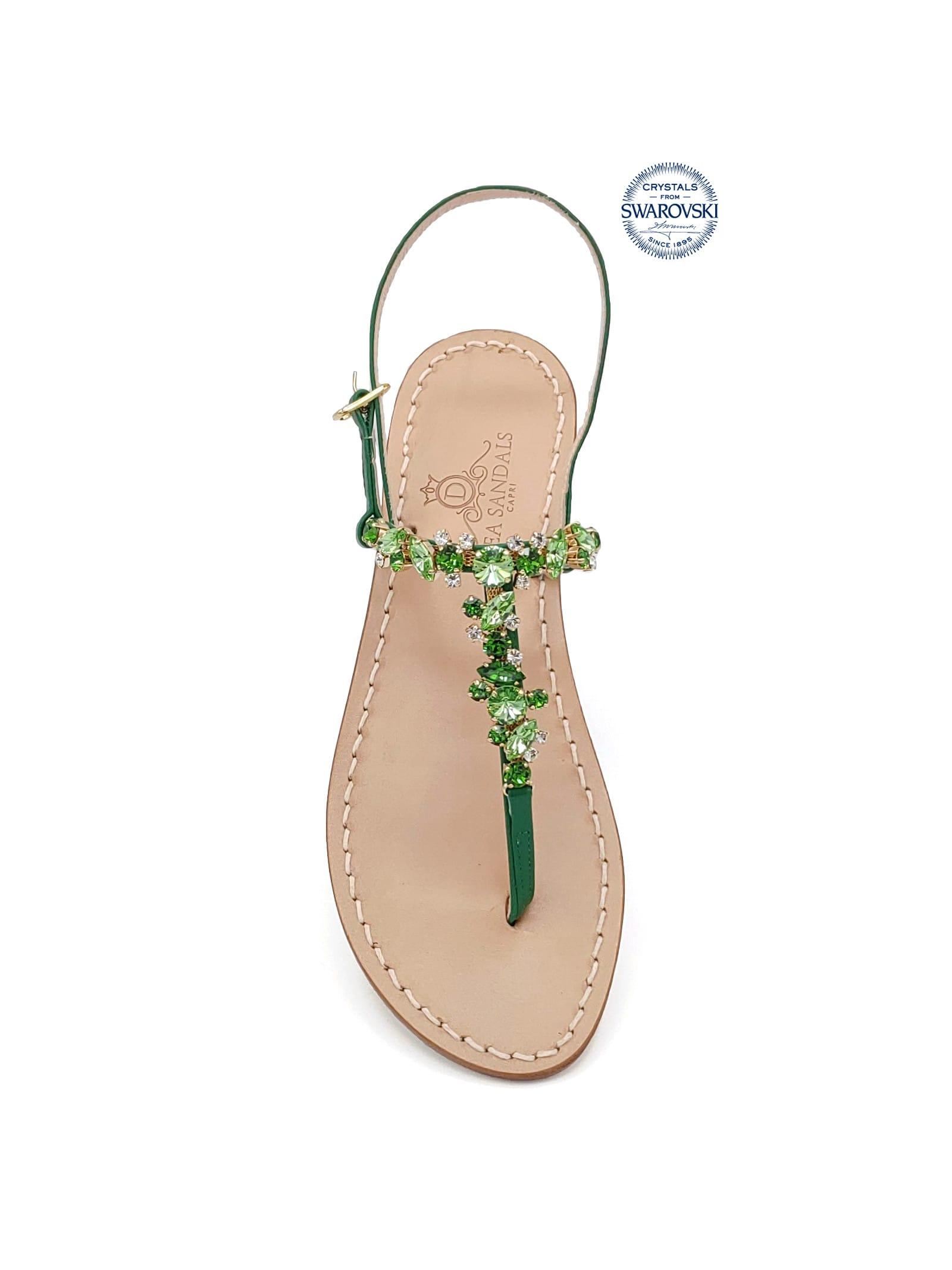 Licampi Jewel Thong Sandals