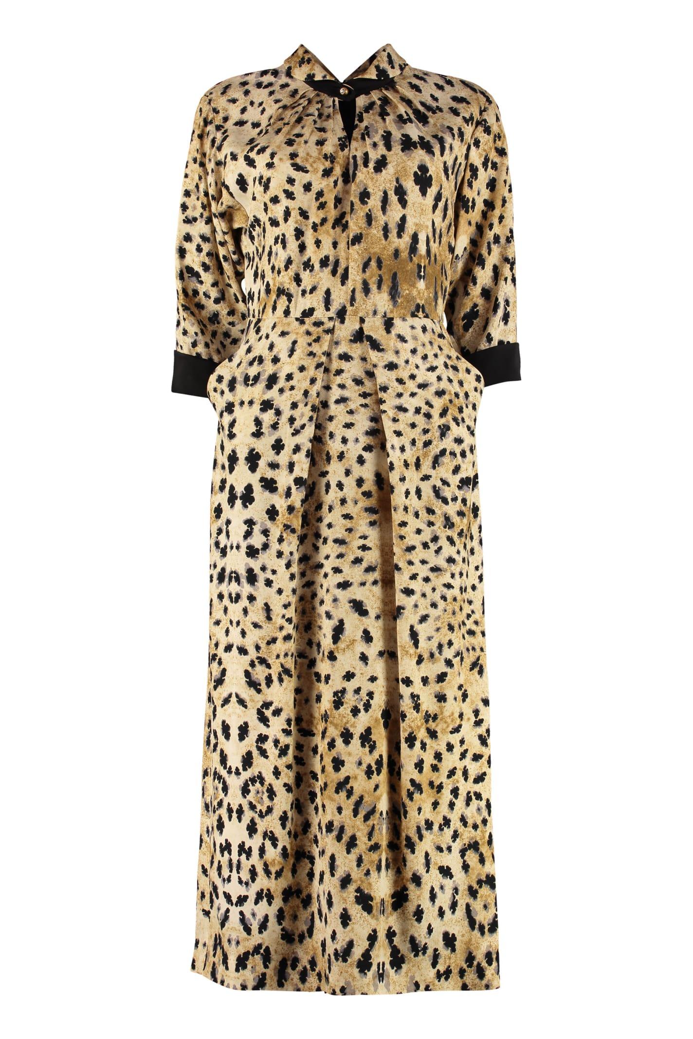 Prada Midi Viscose Dress