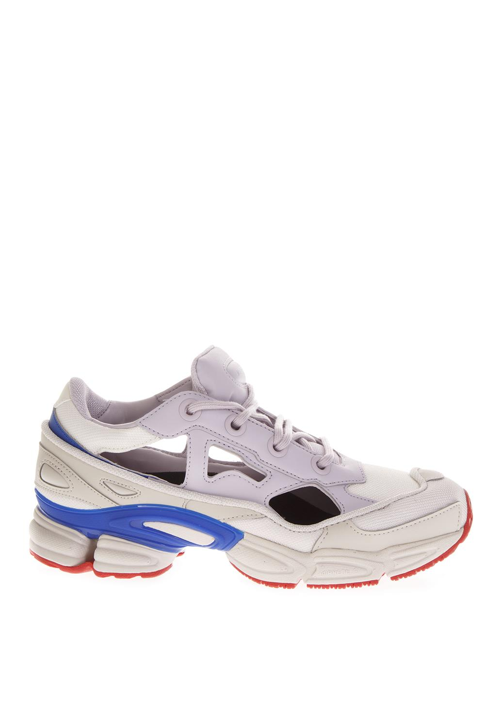the latest 80a40 8ca8c Adidas By Raf Simons White Replicant Ozweego Sneakers By Raf Simons