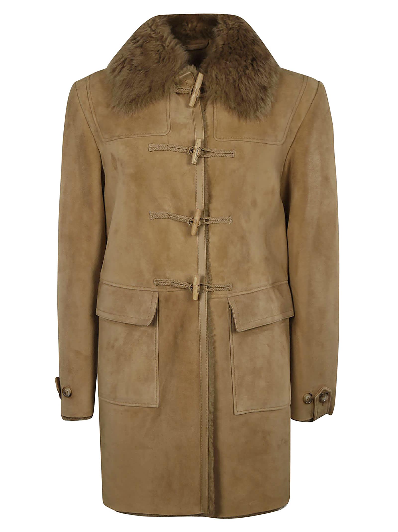 1972 Curly Suede Coat