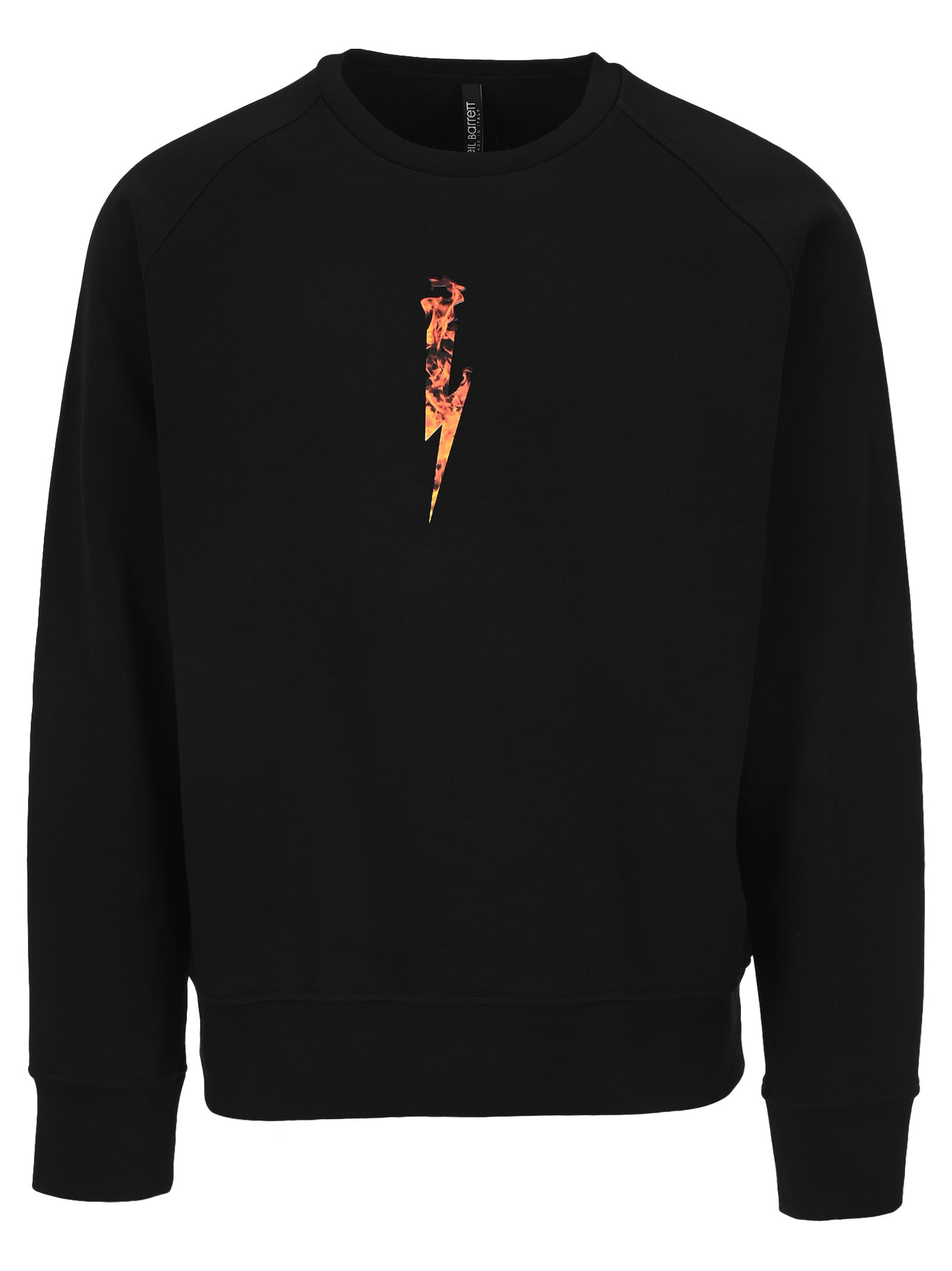 Neil Barrett Fire Thunderbolt Sweatshirt