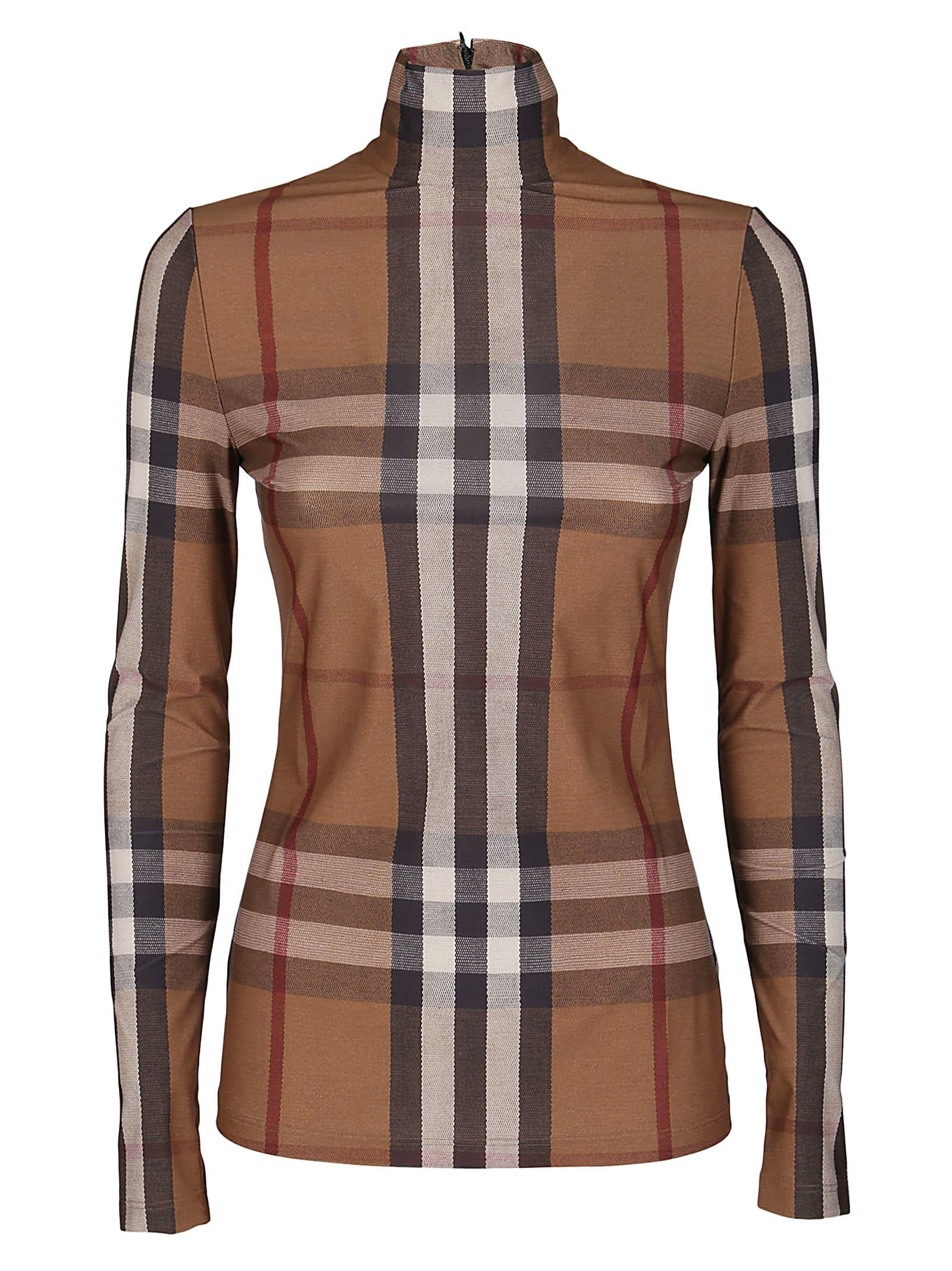 BURBERRY BROWN CHECK TOP