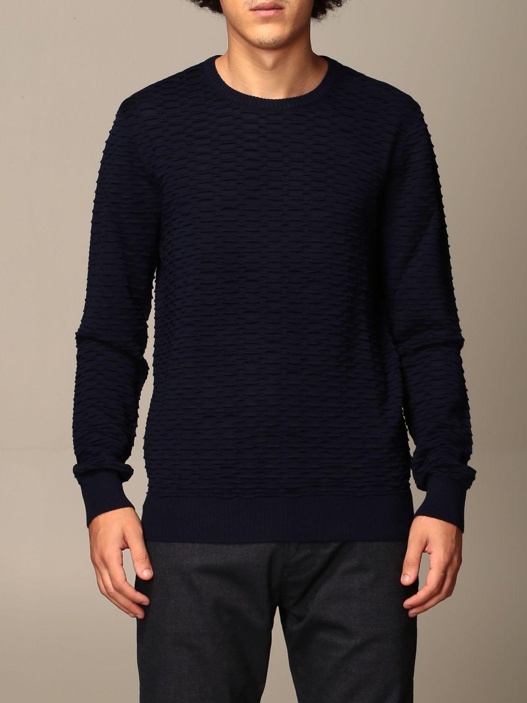 Emporio Armani Sweater Emporio Armani Crewneck Sweater In Wool Blend