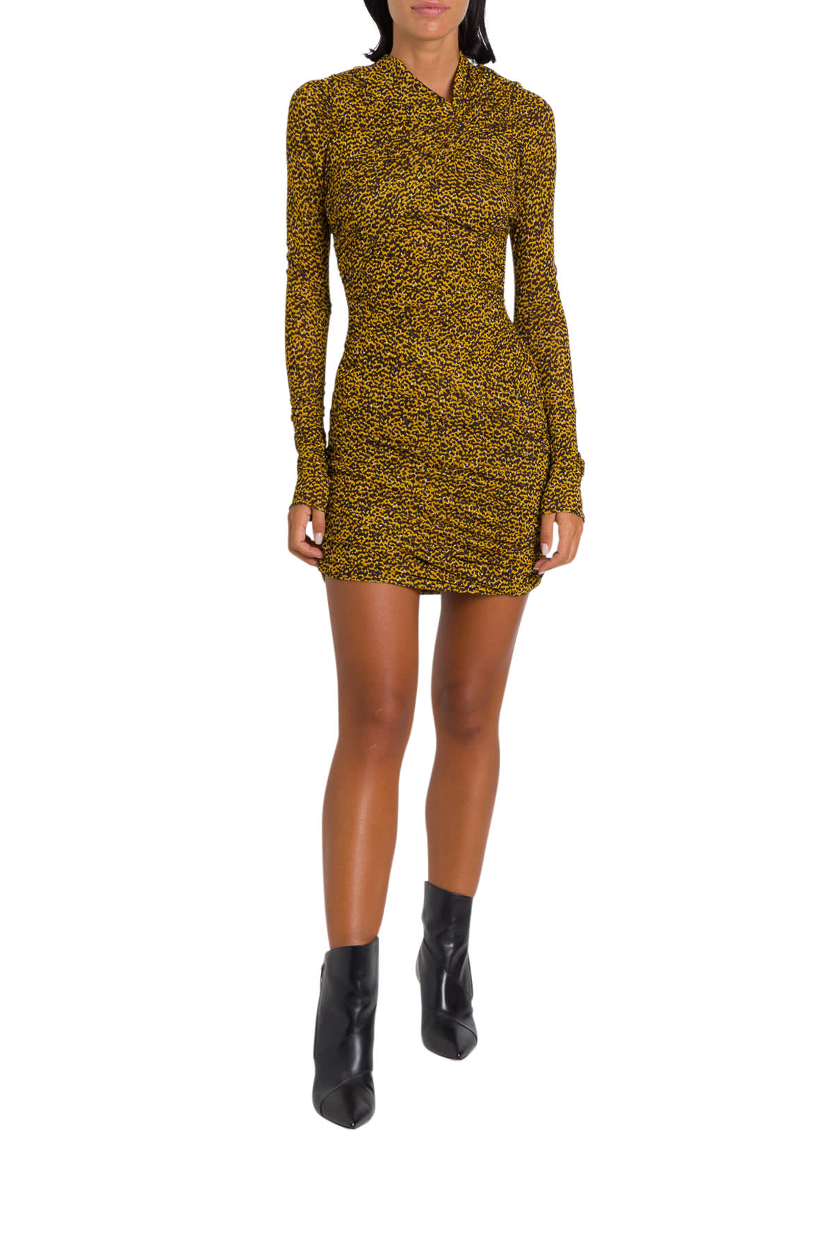 Isabel Marant Jobia Animalier Dress