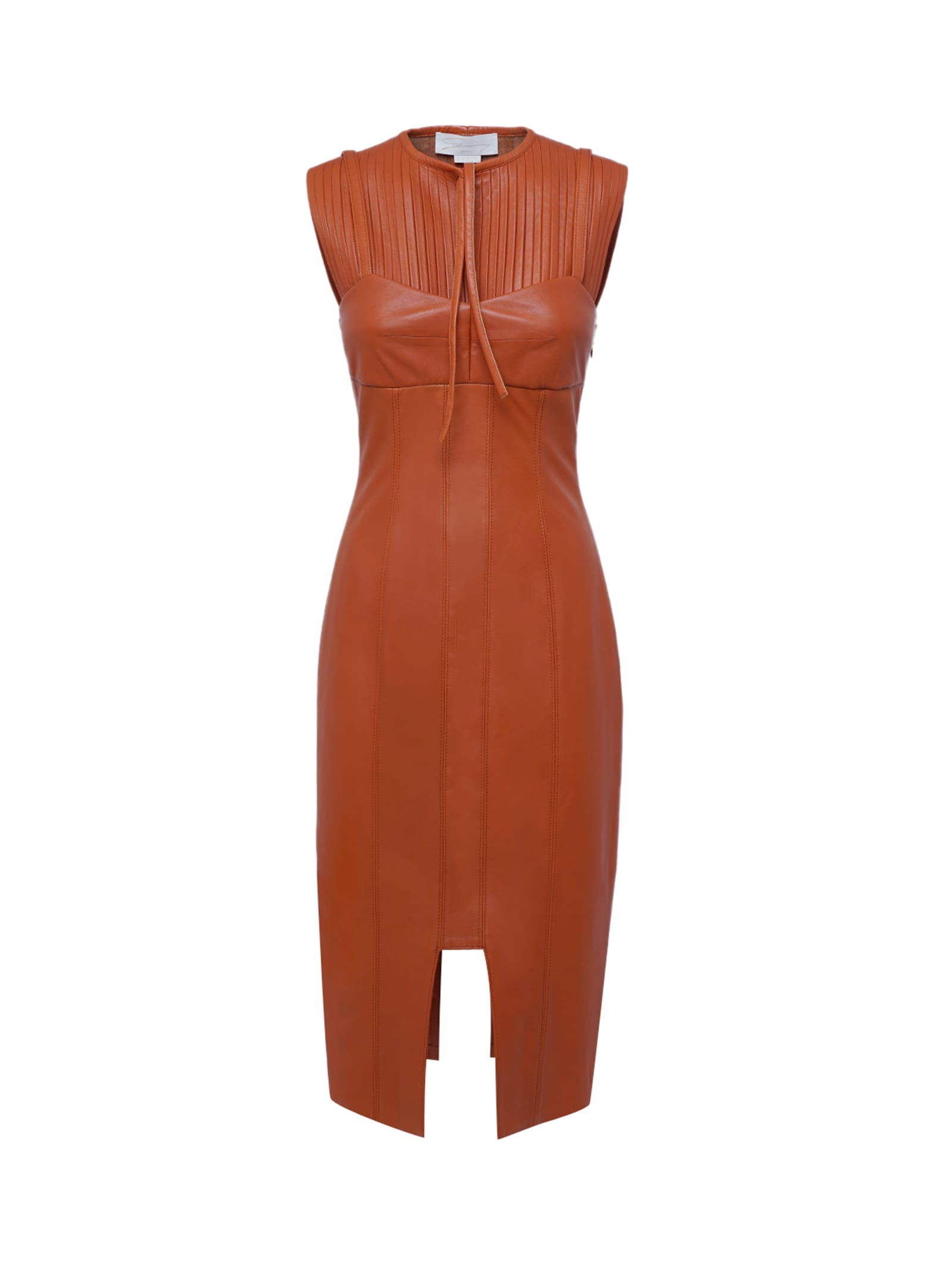 Leather Cocktail Dress