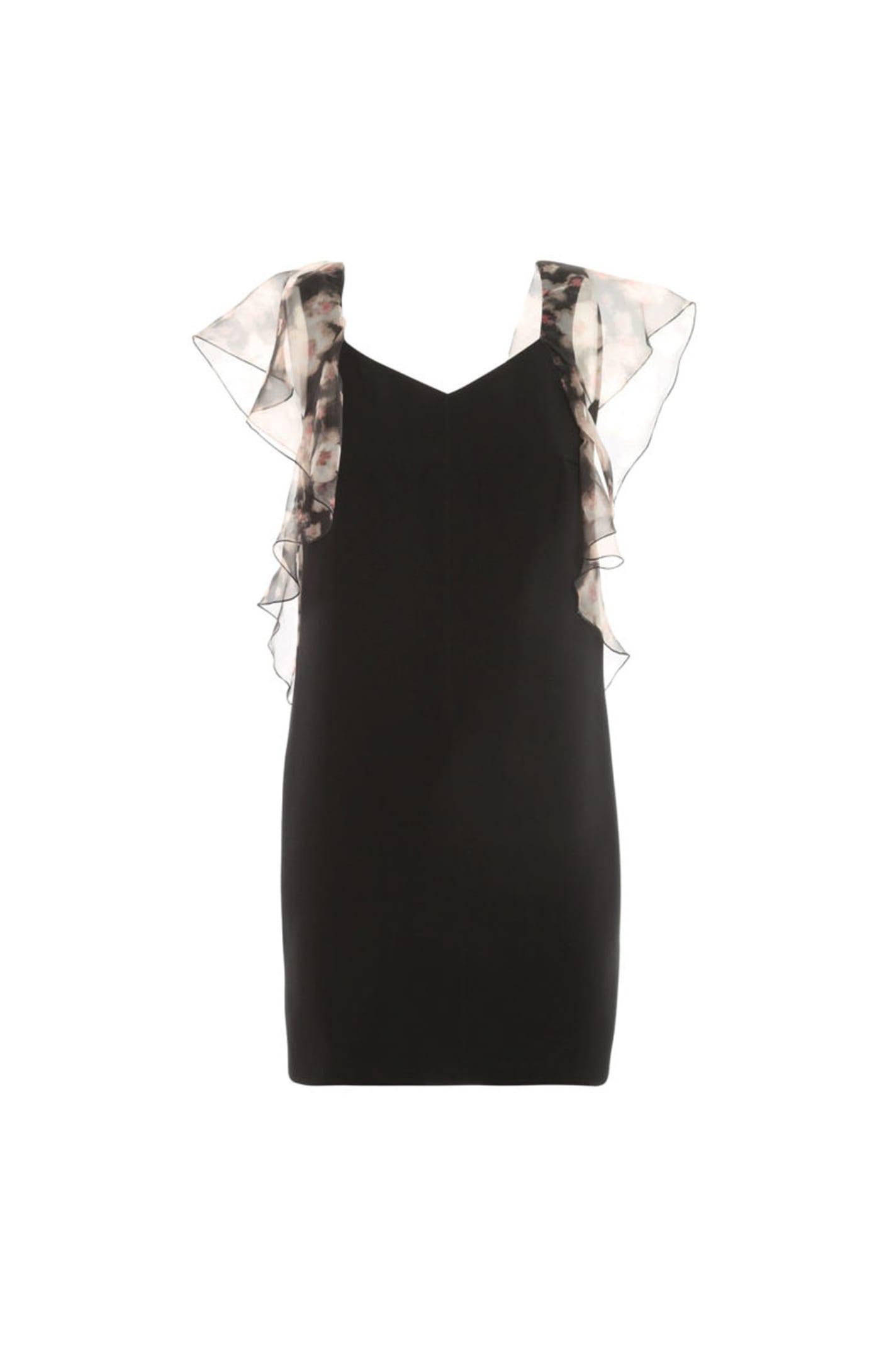 Photo of  Elisabetta Franchi Dress With Watercolour Print- shop Elisabetta Franchi Dresses online sales