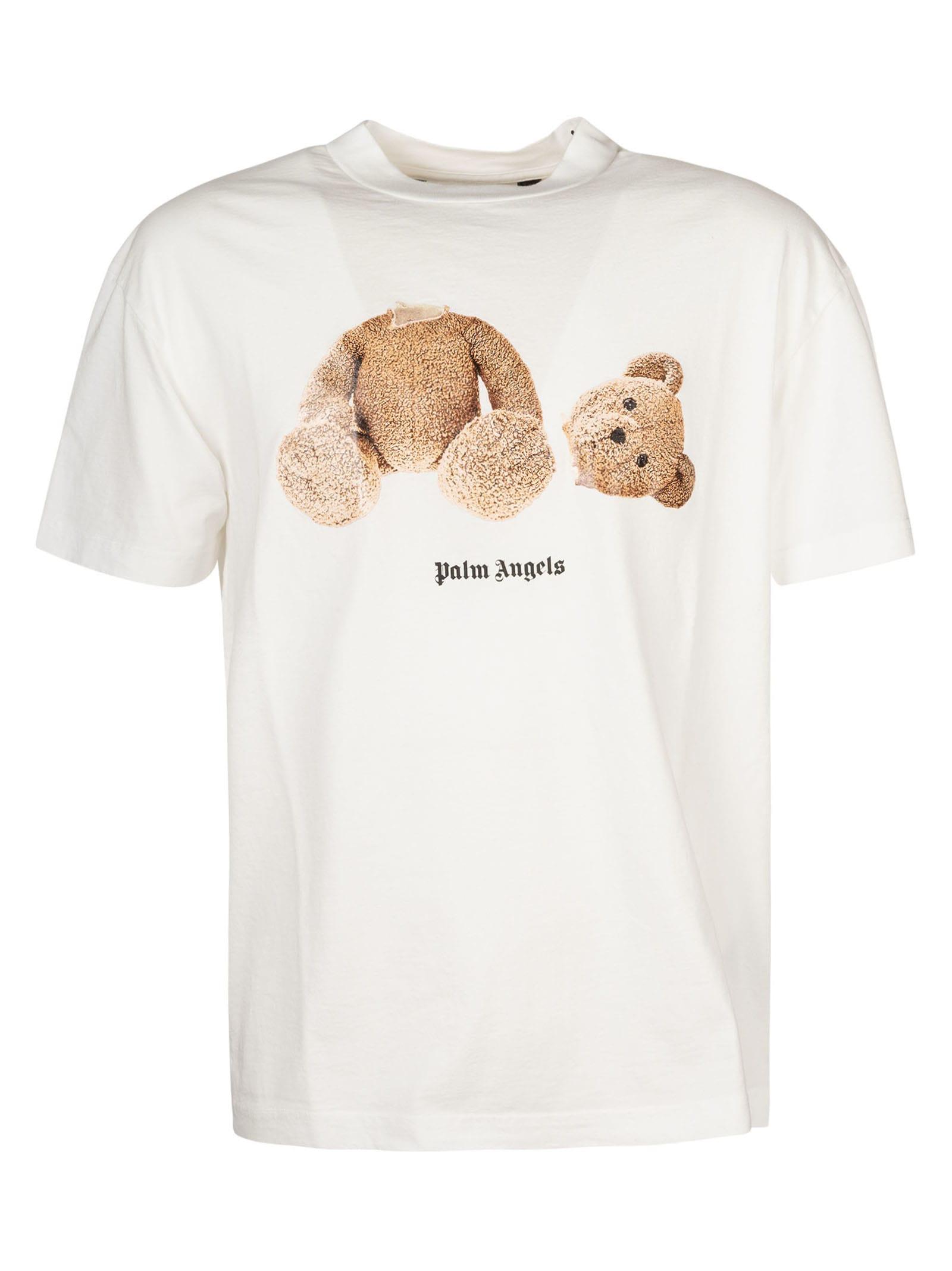Palm Angels Cottons CLASSIC BEAR T-SHIRT