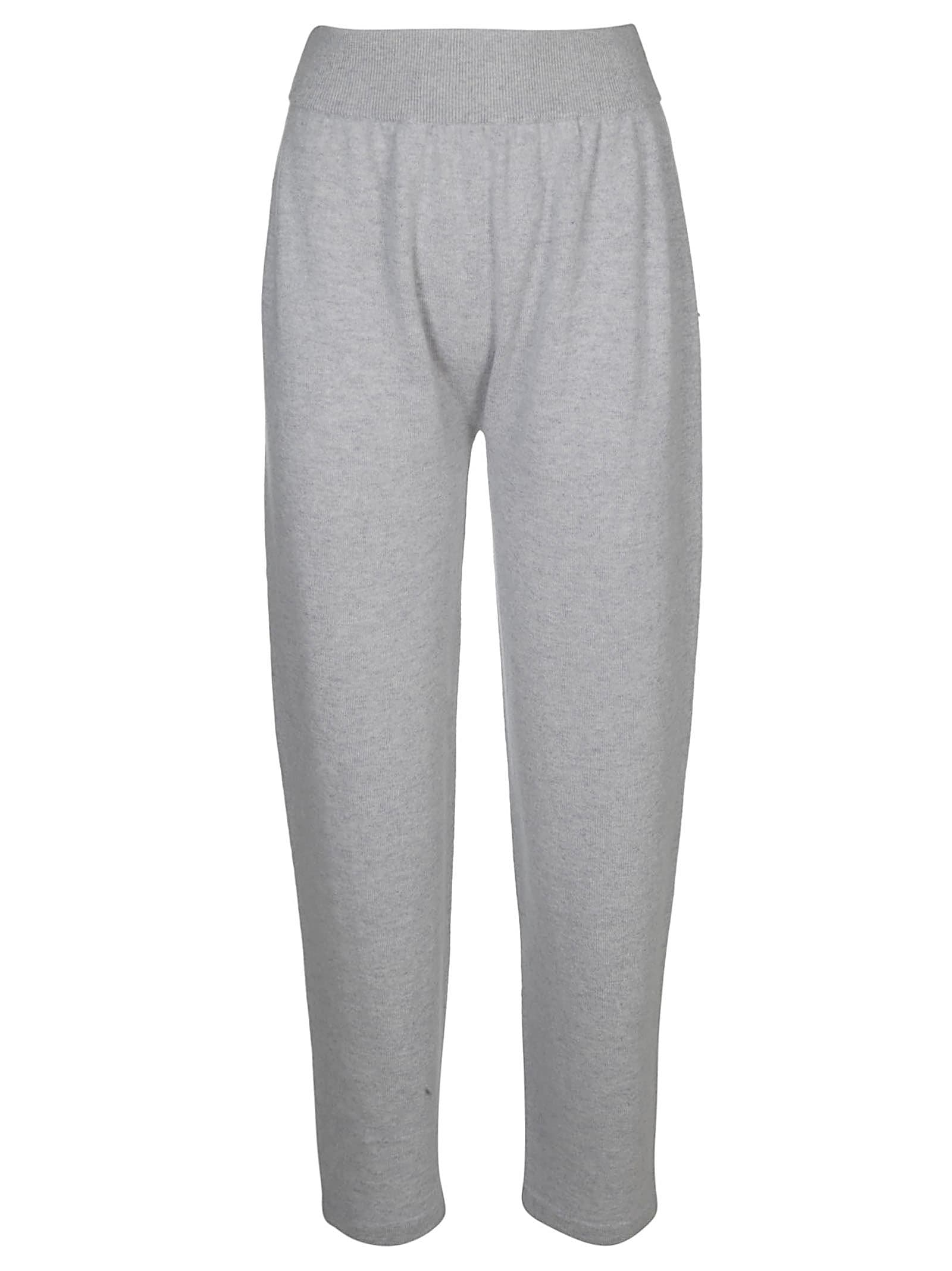 Agnona Knits KNITTED TRACK PANTS