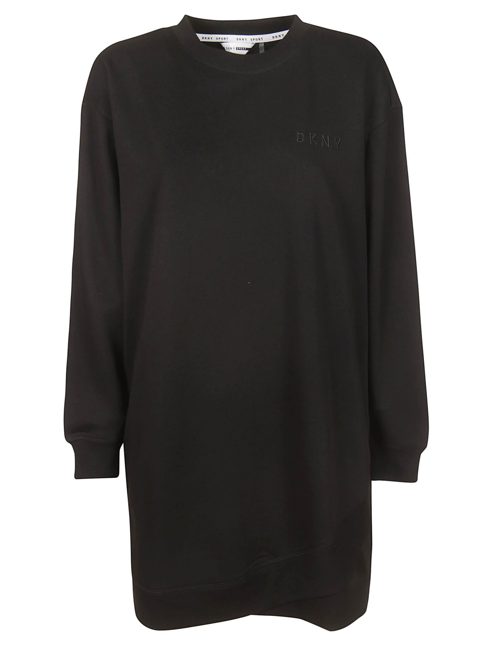 DKNY Ribbed Dress
