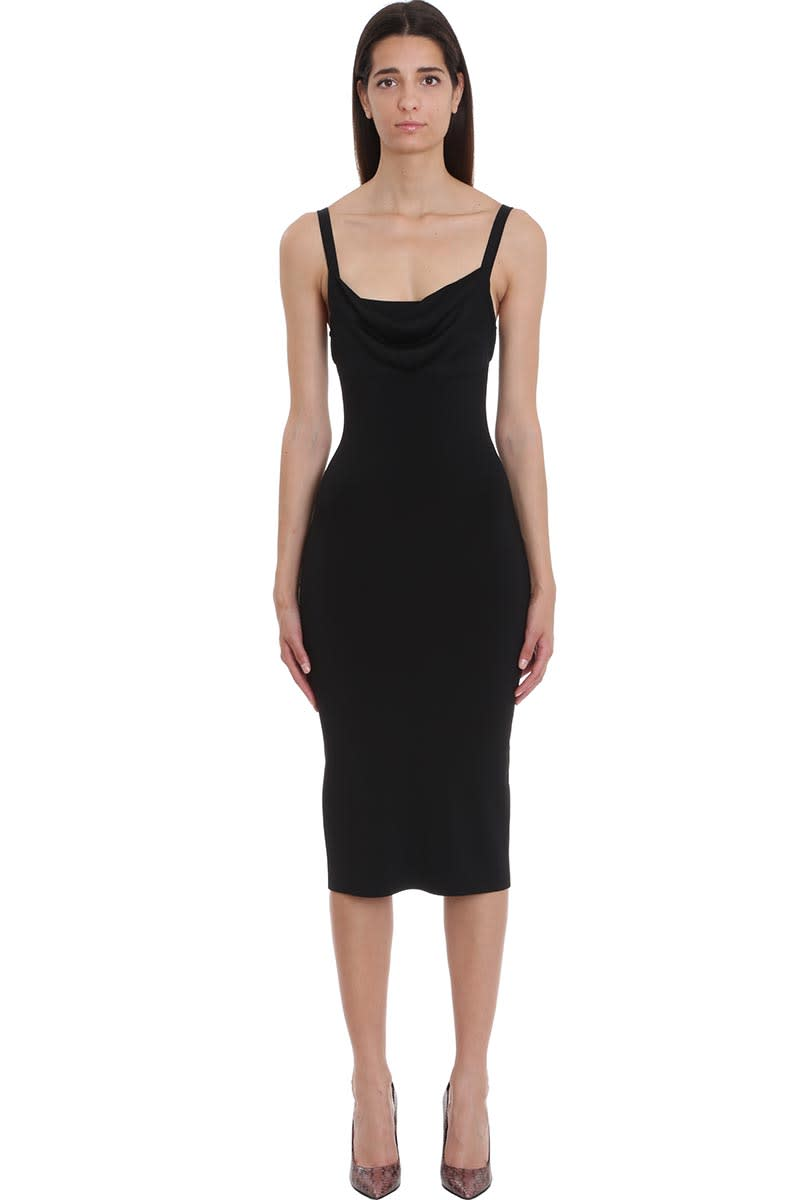 Theory Dress In Black Tech & synthetic