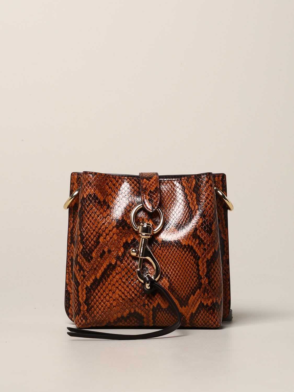 Rebecca Minkoff Mini Bag Rebecca Minkoff Megan Mini Bag In Python Print Leather