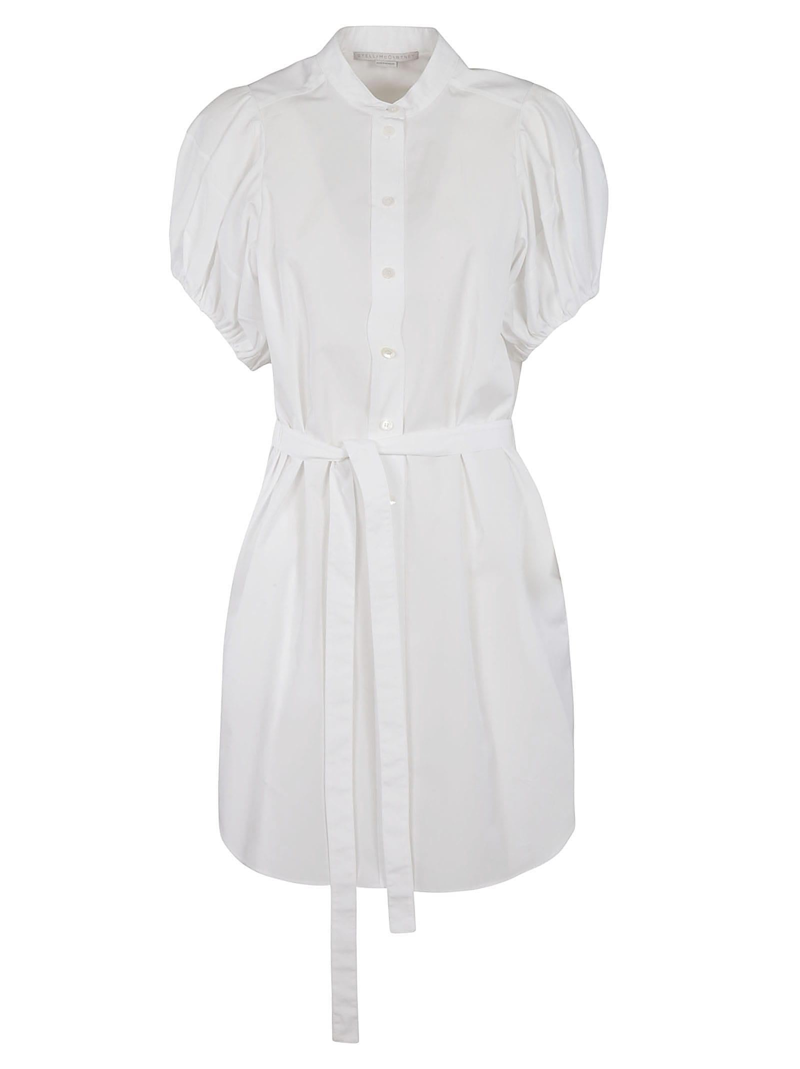 Stella Mccartney Cottons TIE-WAIST SHIRT DRESS