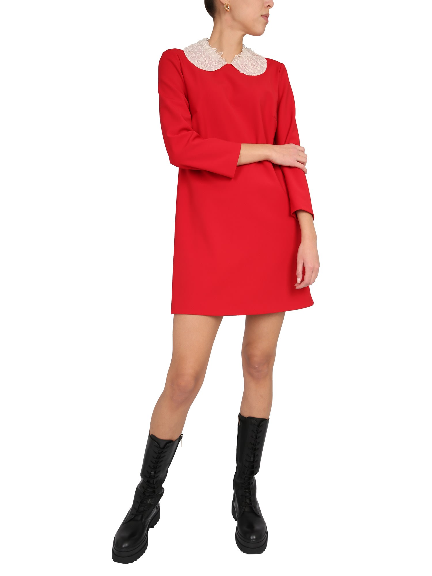 Buy RED Valentino Cady Dress online, shop RED Valentino with free shipping