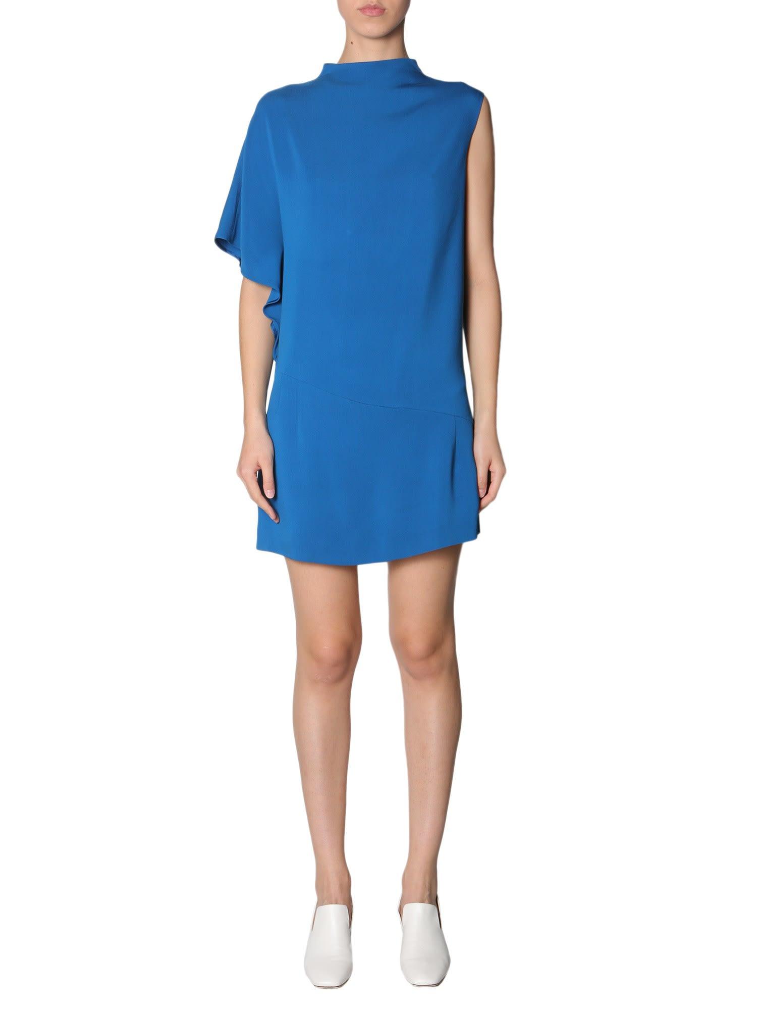 Buy Lanvin Asimmetrico Dress online, shop Lanvin with free shipping