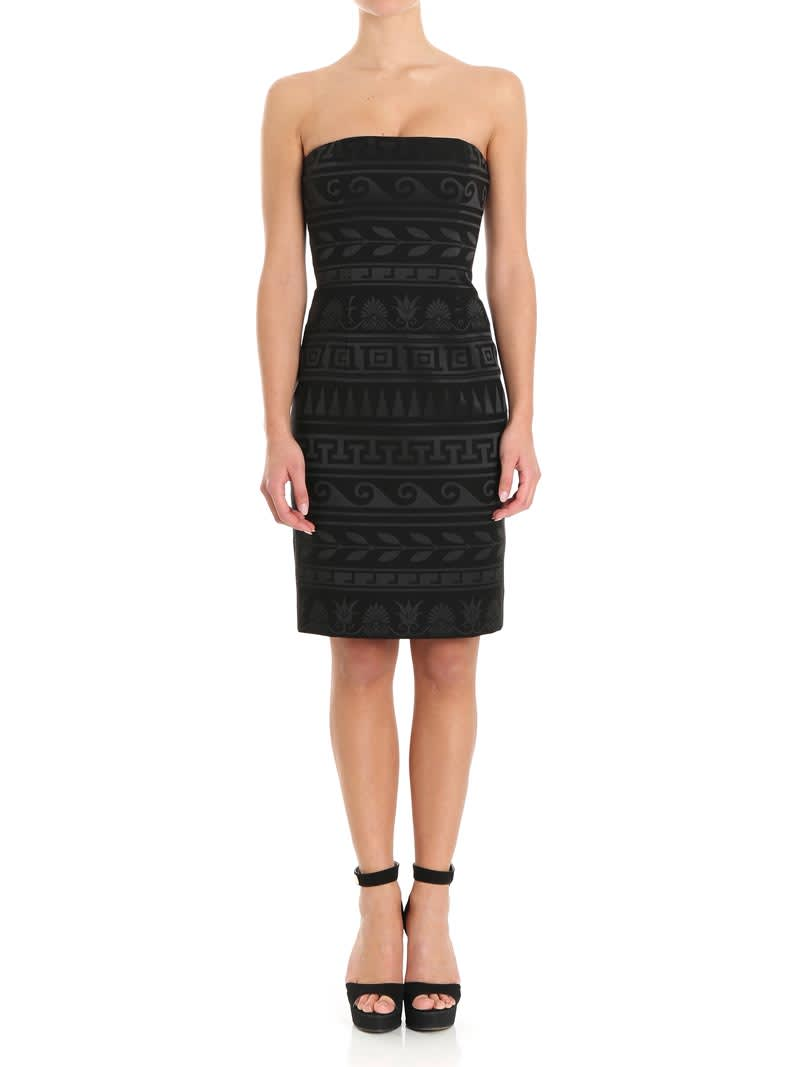 Versace Collection Jacquard Dress