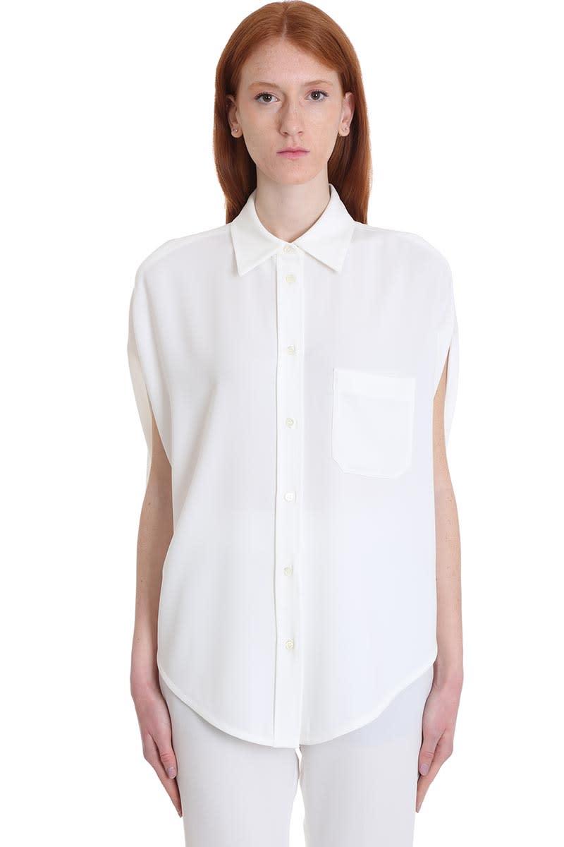 Brag-Wette Shirt In White Cotton