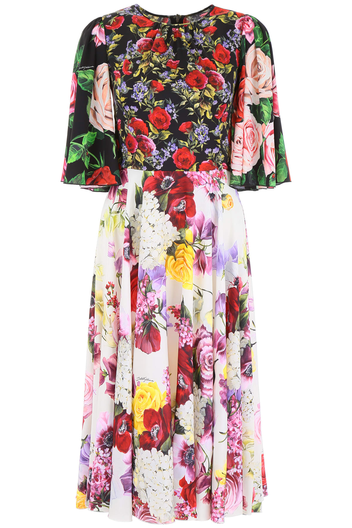 Buy Dolce & Gabbana Printed Dress online, shop Dolce & Gabbana with free shipping