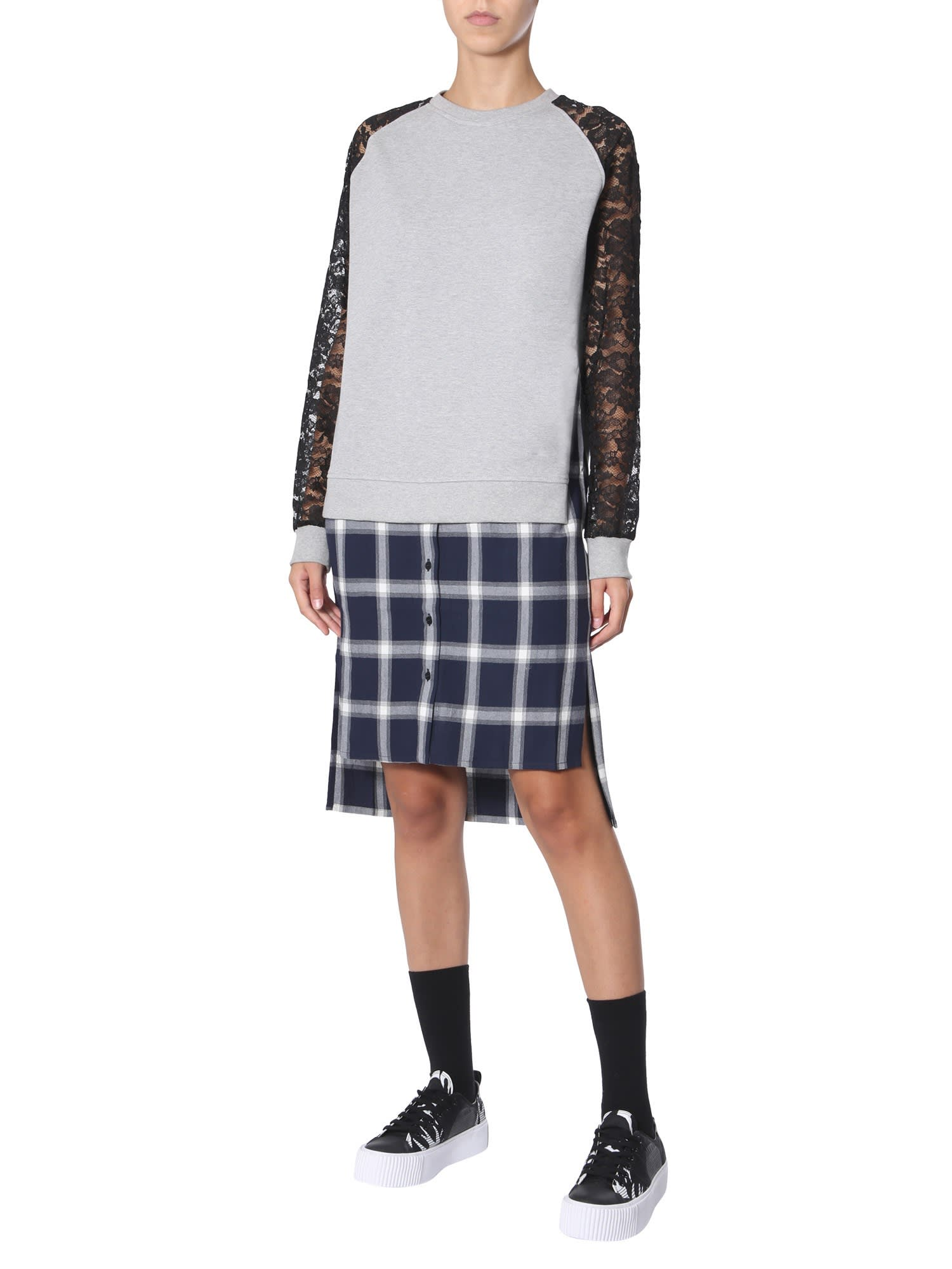 McQ Alexander McQueen Patchwork Dress