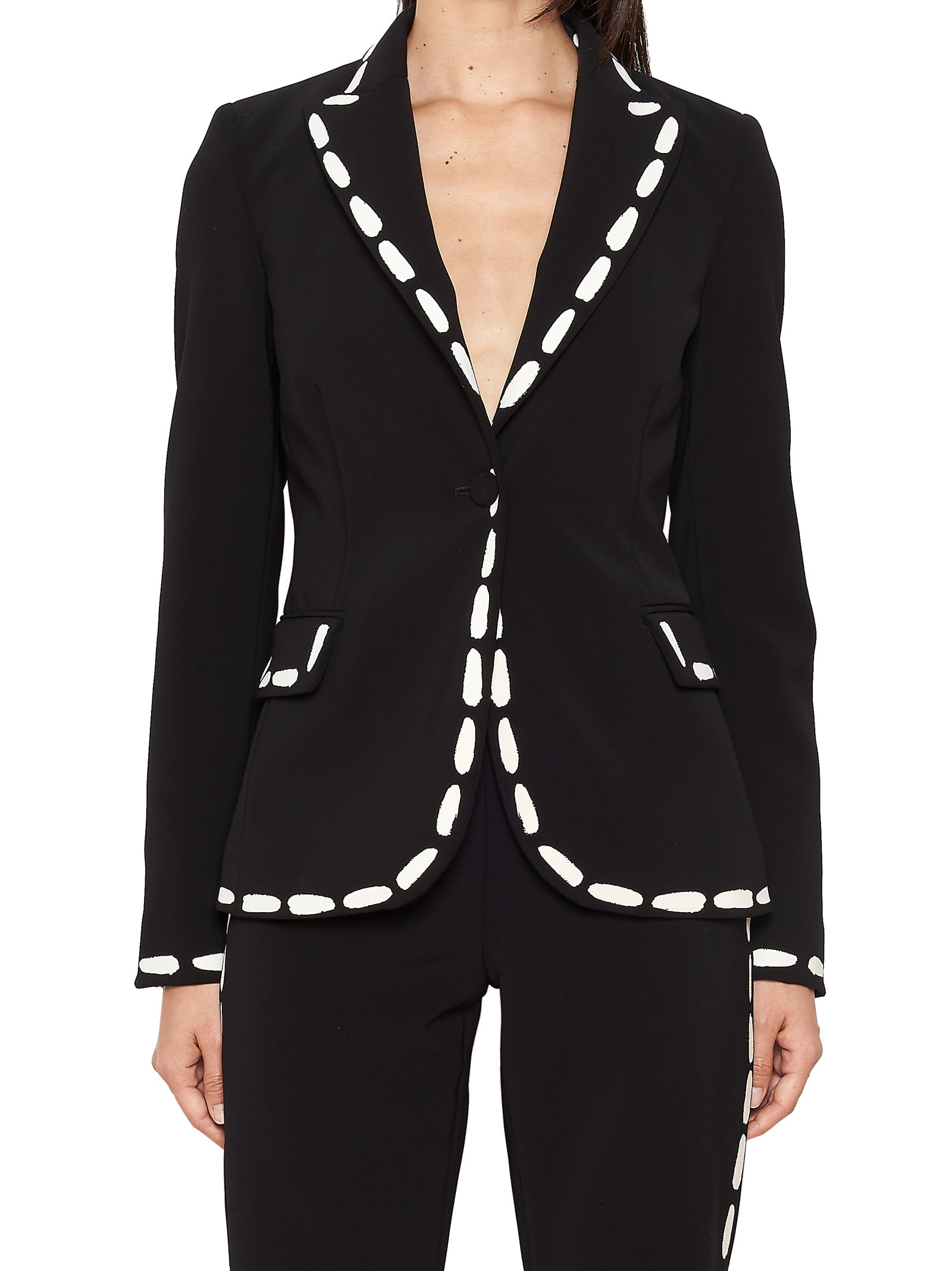 Moschino stitching Jacket