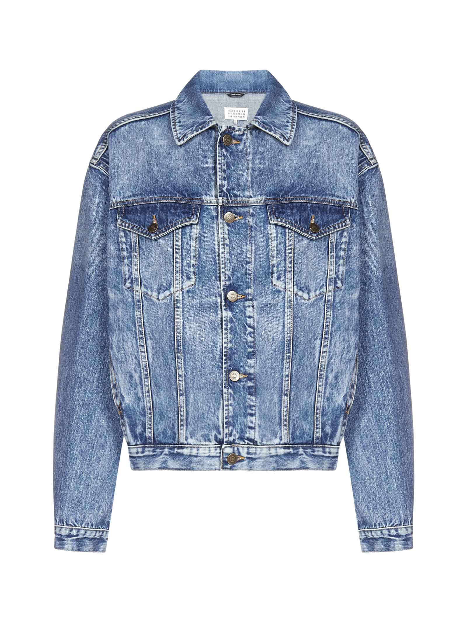 Maison Margiela Recycled Denim Oversized Jacket