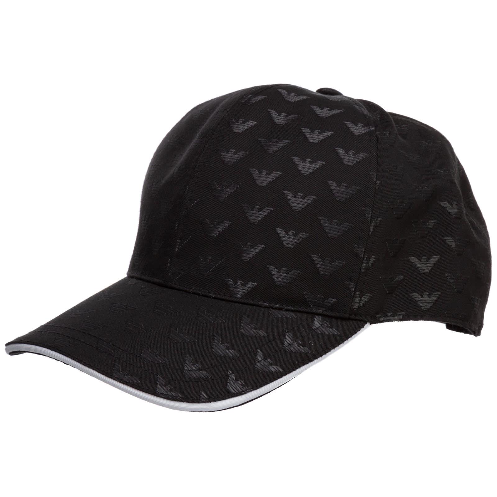 Emporio Armani CROSS BASEBALL CAP