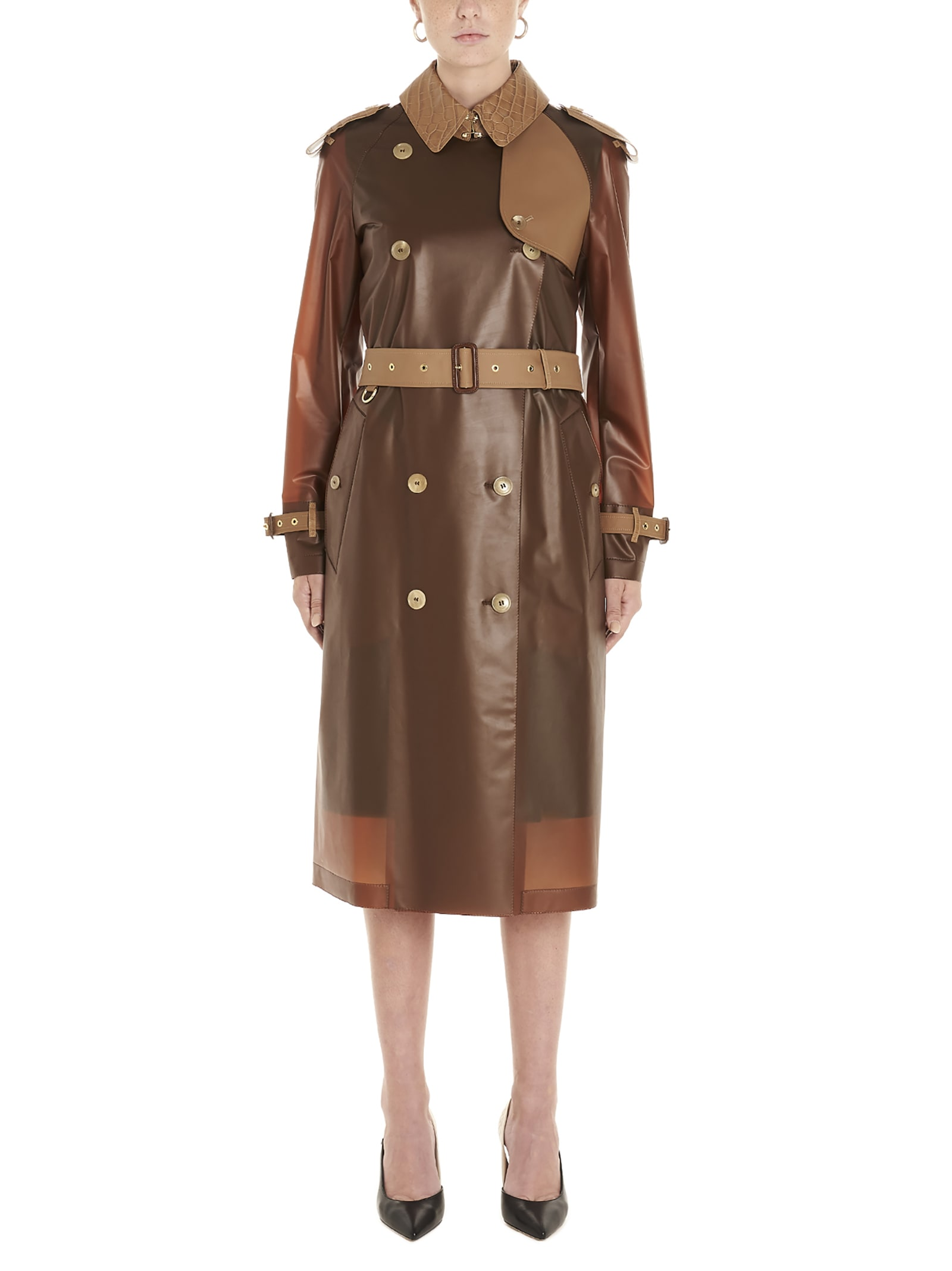 Photo of  Burberry kensington Trench Coat- shop Burberry jackets online sales