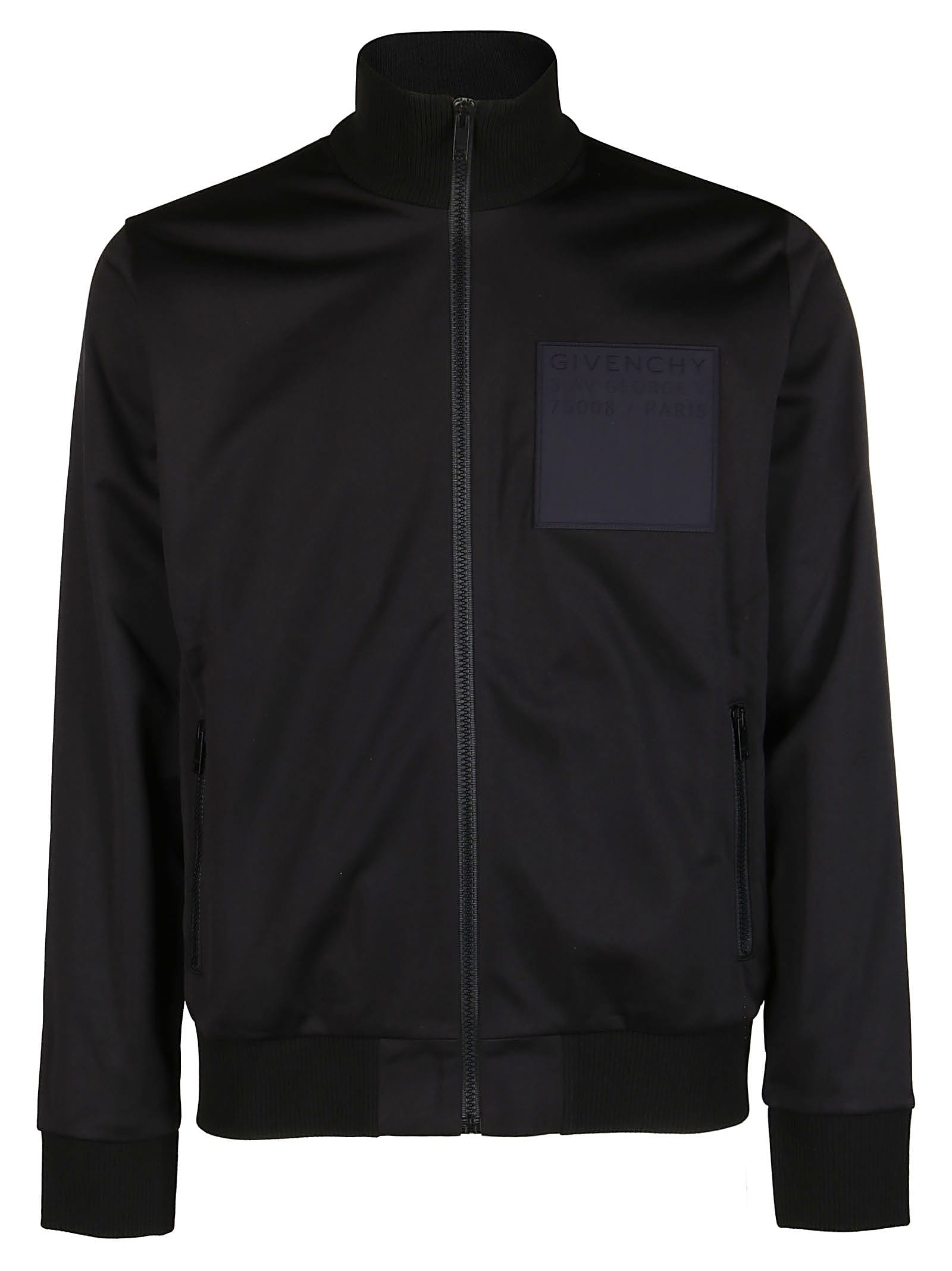 Givenchy Black Track Jacket