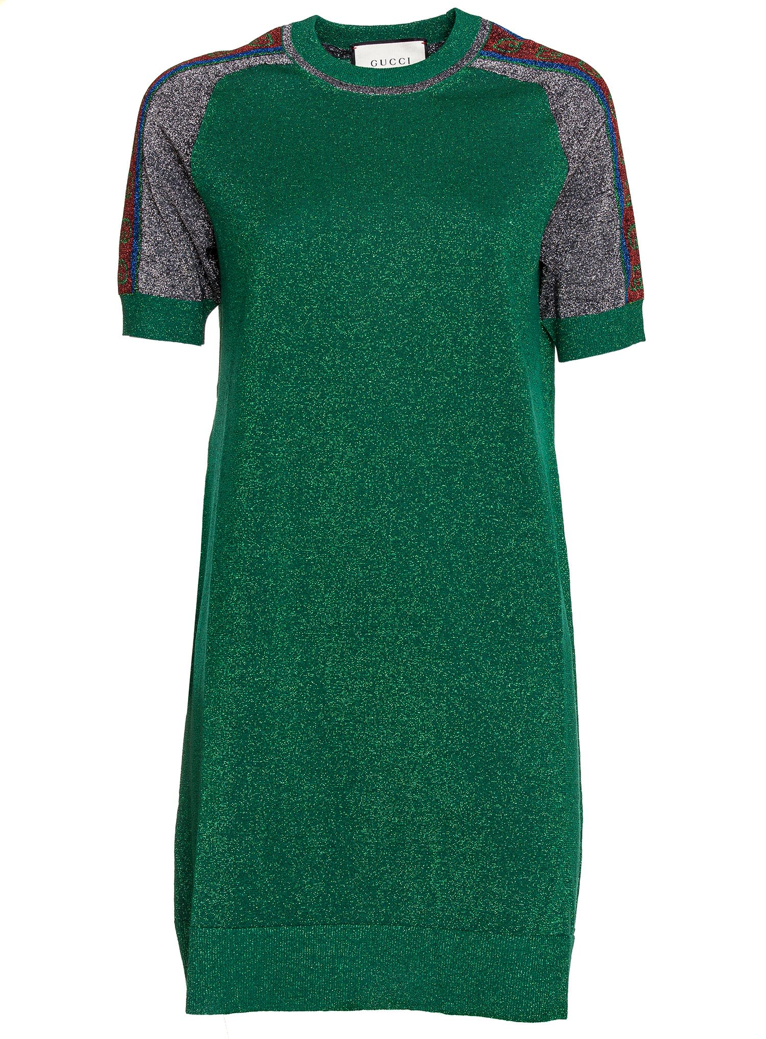 Gucci Tunic Dress In Lurex