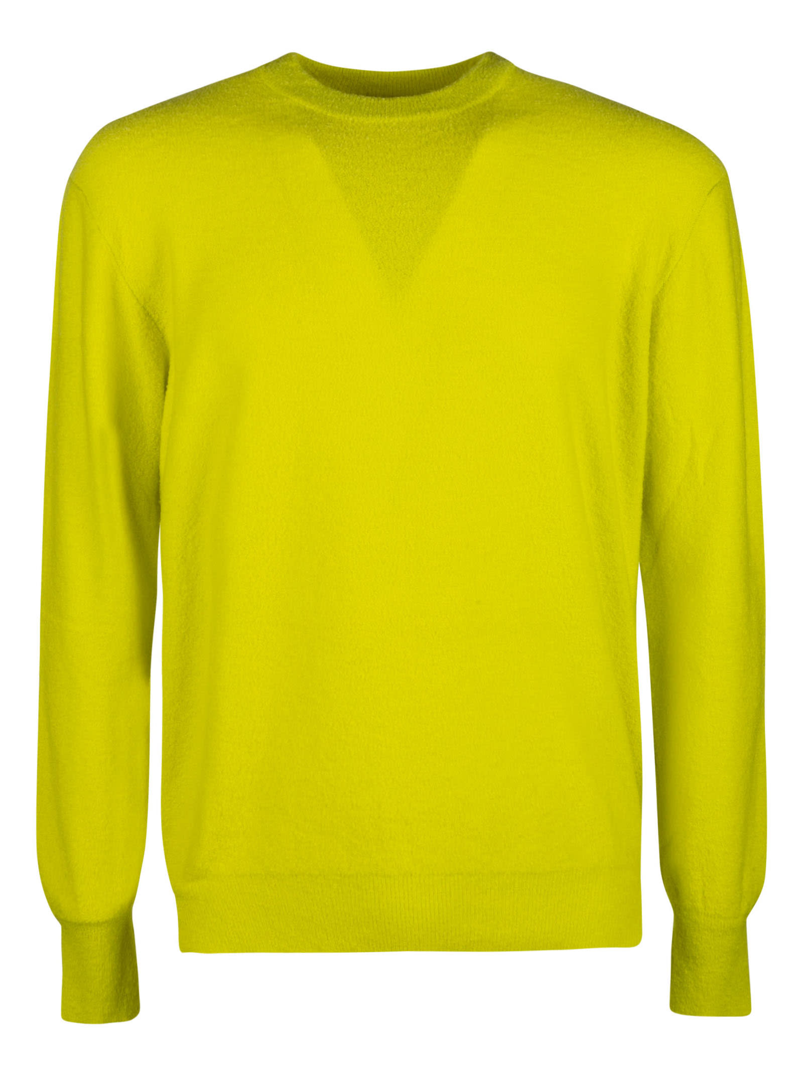 Side Slit Plain Sweater