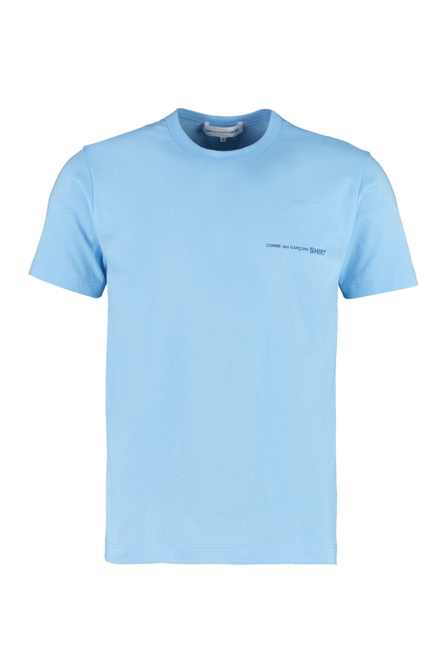 Comme Des Garçons Shirt Cottons LOGO COTTON T-SHIRT