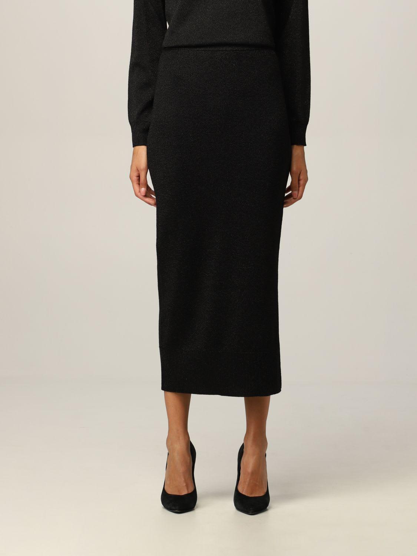 Armani Exchange Skirt Midi Lurex Sweater