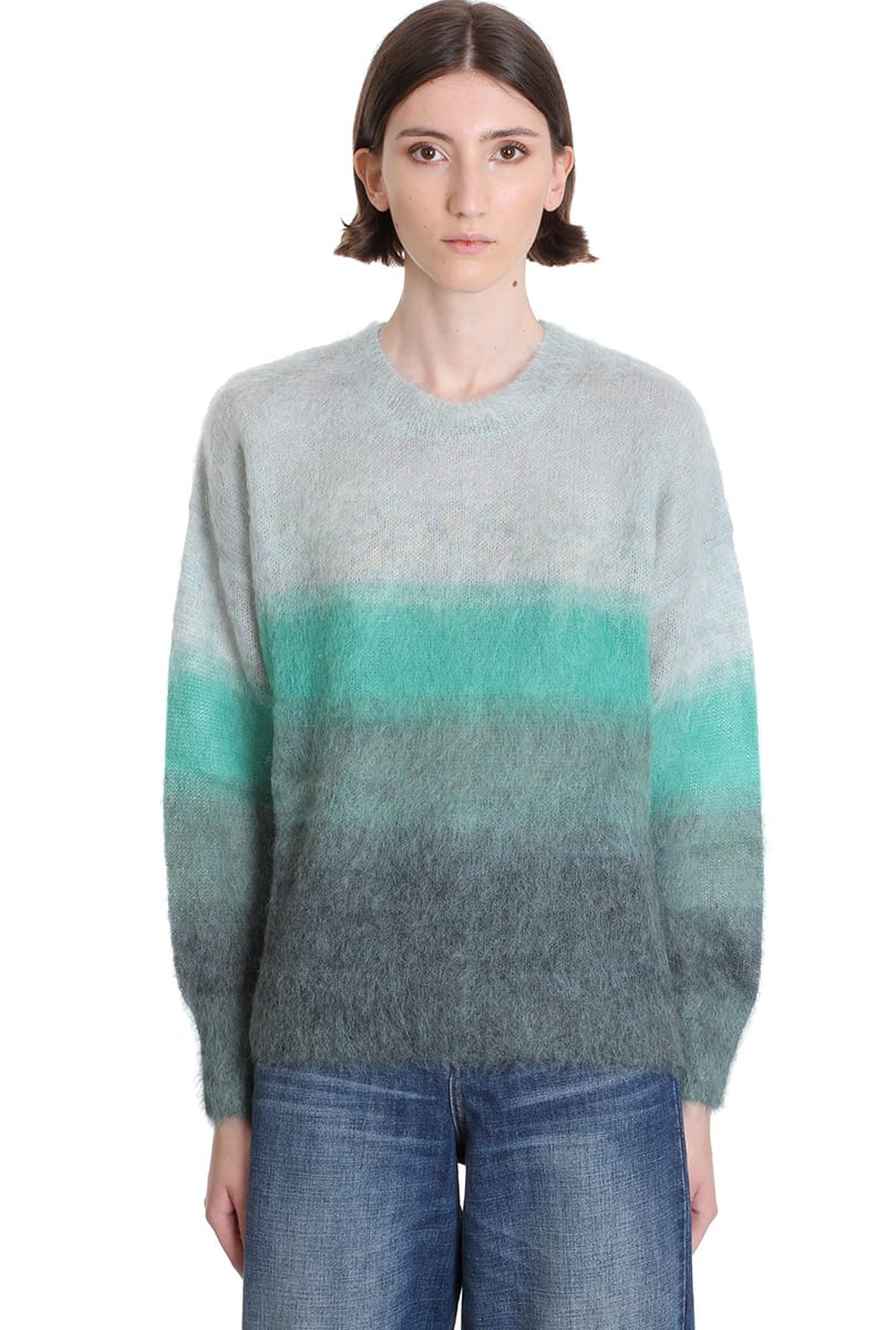 Isabel Marant Étoile Drussell Knitwear In Green Wool