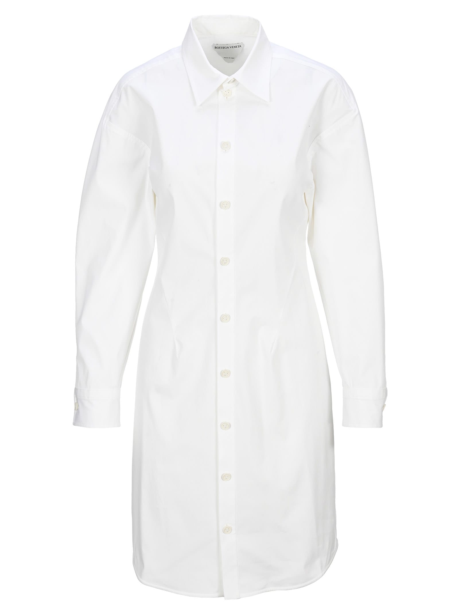 Buy Bottega Veneta Shirt Dress online, shop Bottega Veneta with free shipping
