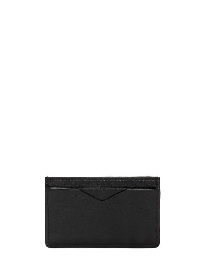 Alexander Mcqueen Accessories RIB CAGE EMBOSSED CARD HOLDER