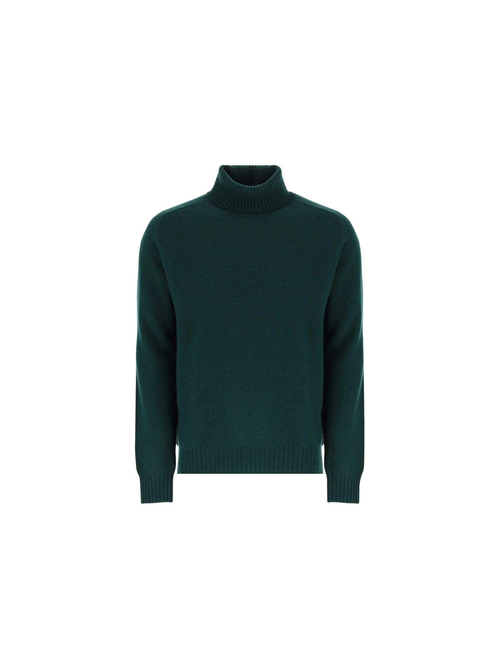 Paltò Bambù Sweater In Green