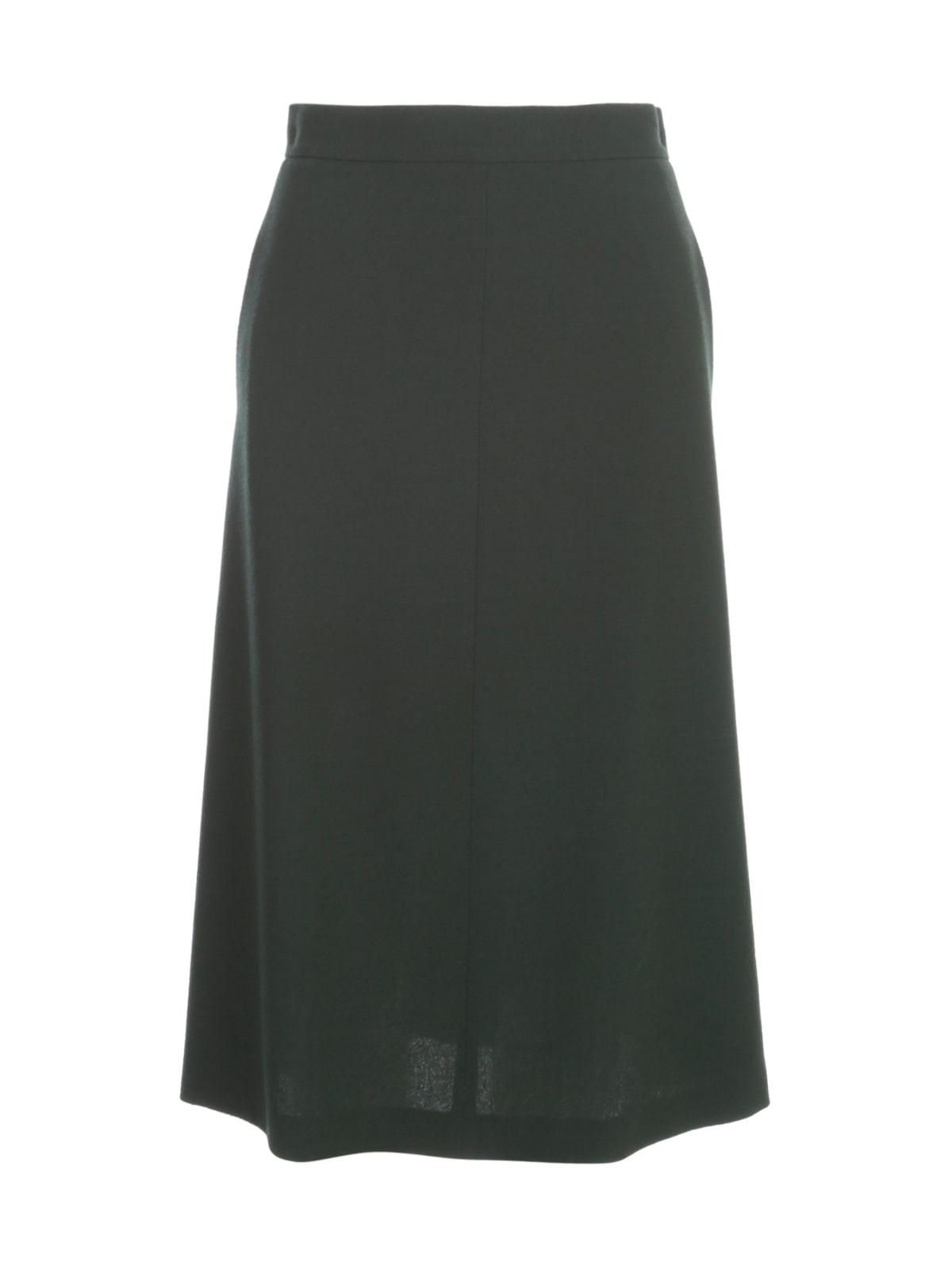 Crepe A Line Skirt