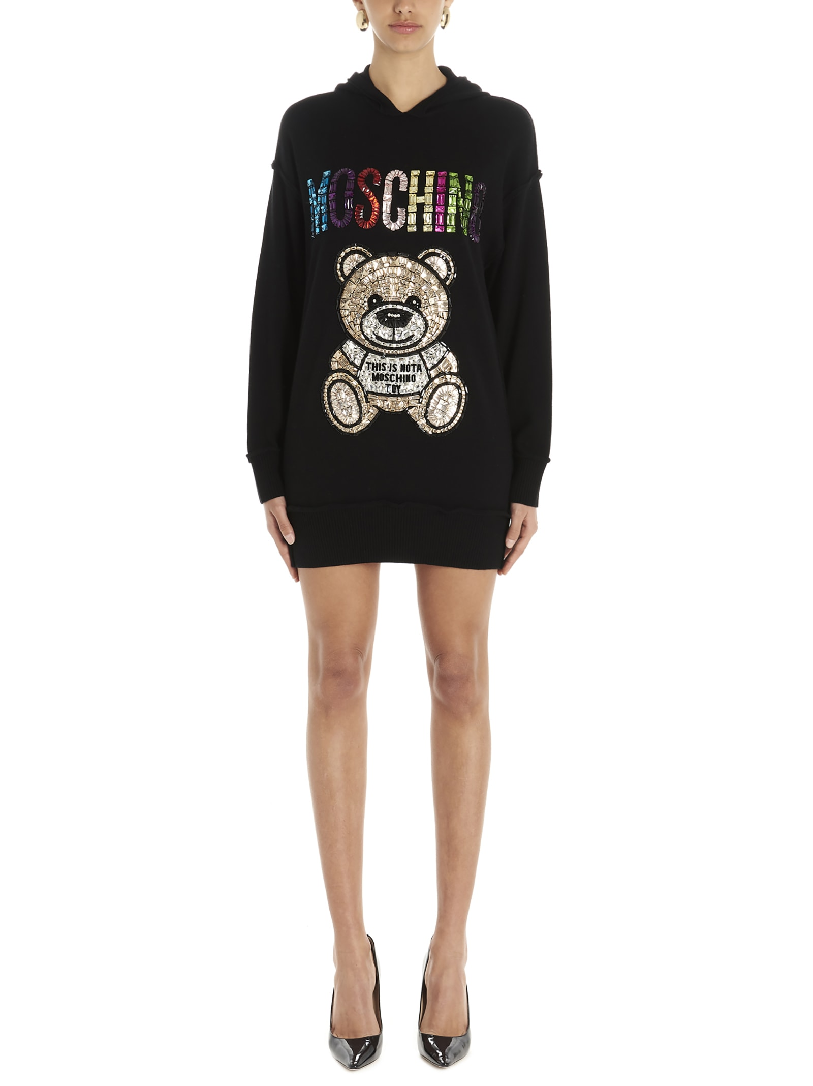 Buy Moschino teddy Dress online, shop Moschino with free shipping