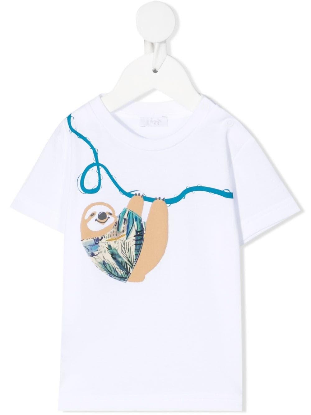 Il Gufo Cottons SLOTH JERSEY T-SHIRT