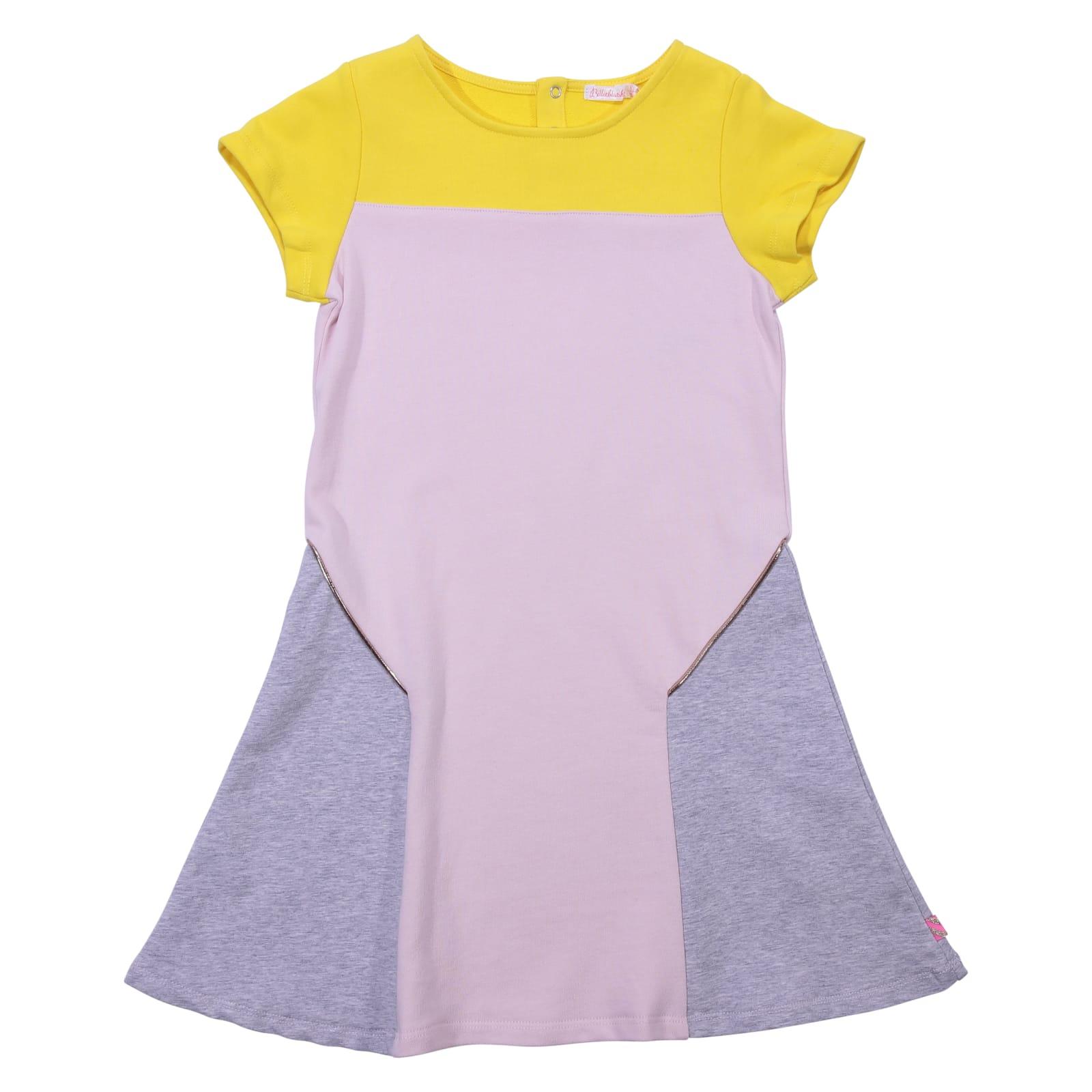 Billieblush Color Block Cotton Dress