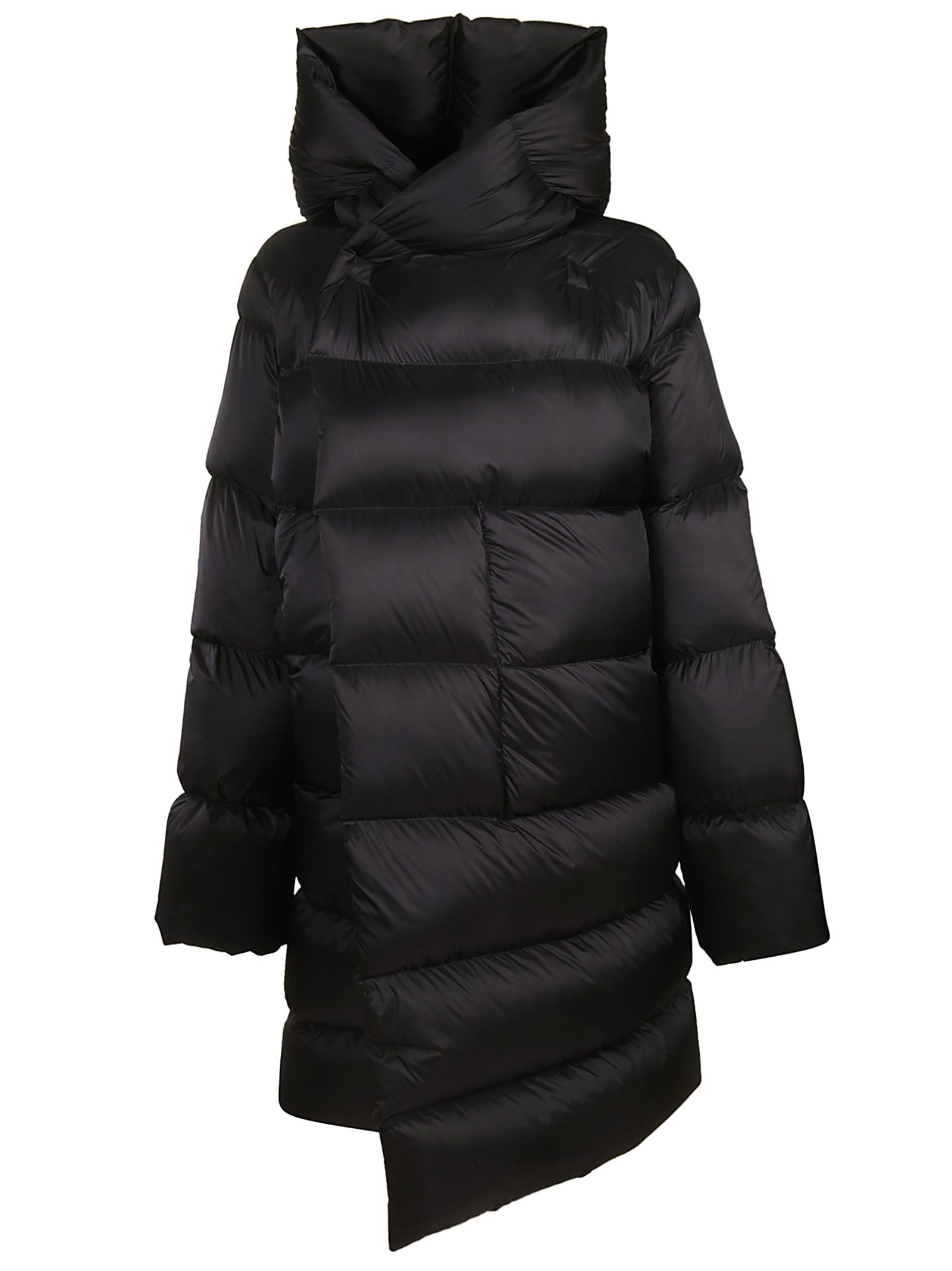 Rick Owens Hooded Padded Jacket