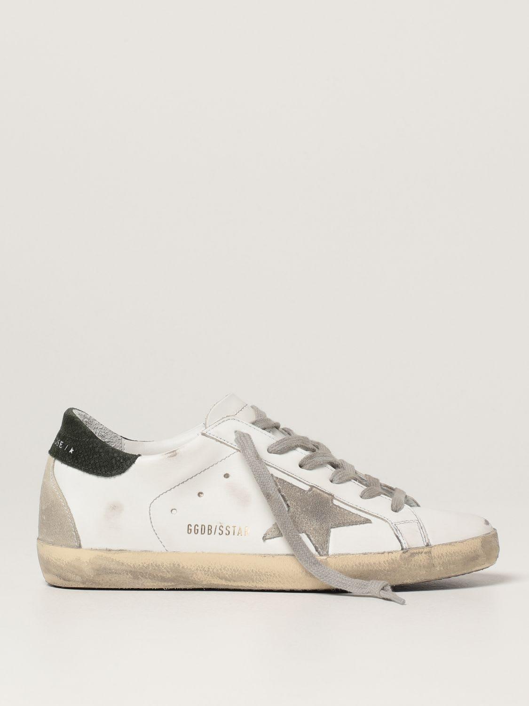 Golden Goose Sneakers Superstar Classic Golden Goose Sneakers In Leather
