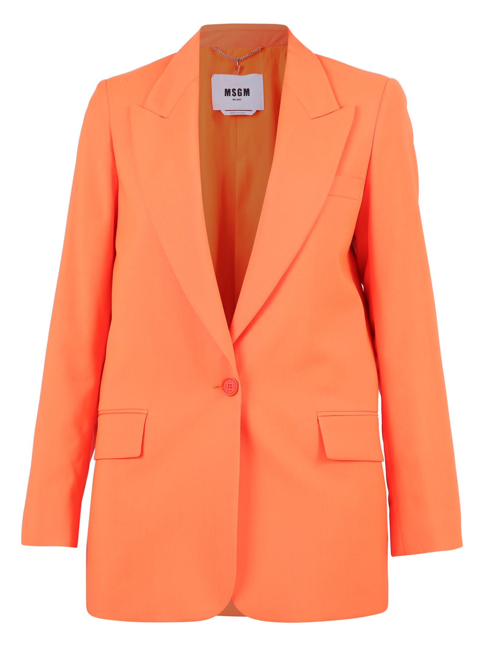 MSGM Single-breasted Jacket