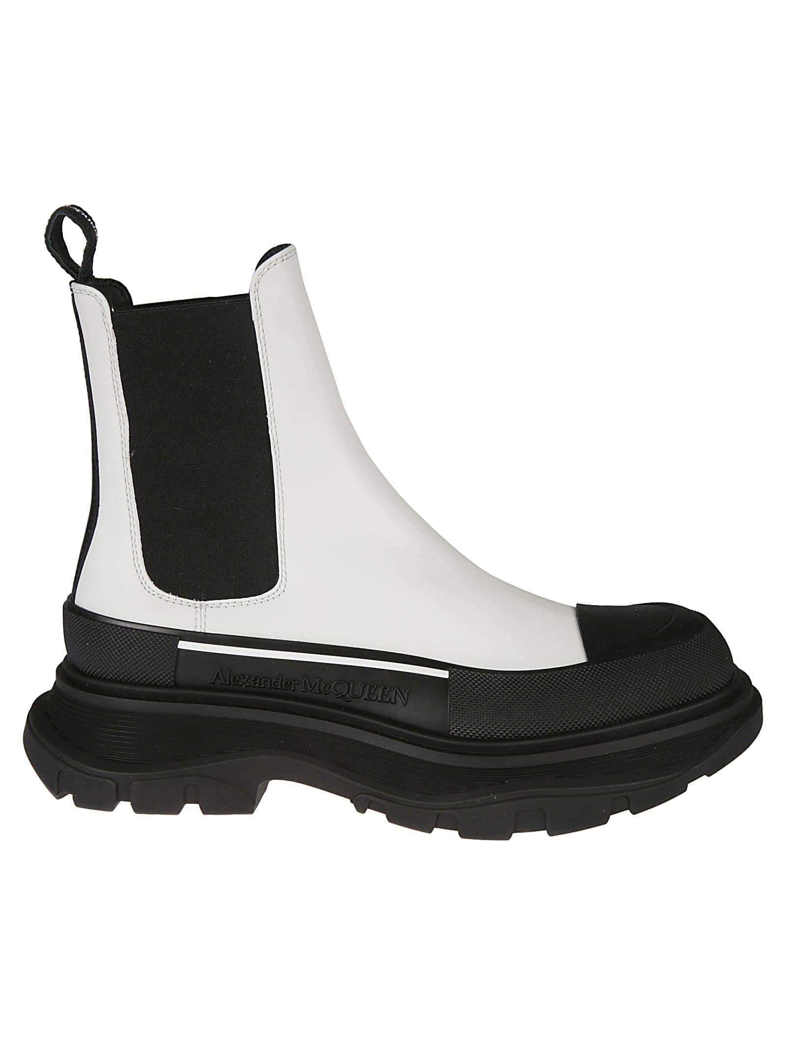 Alexander McQueen Elastic Sided Wedge Heel Sneakers