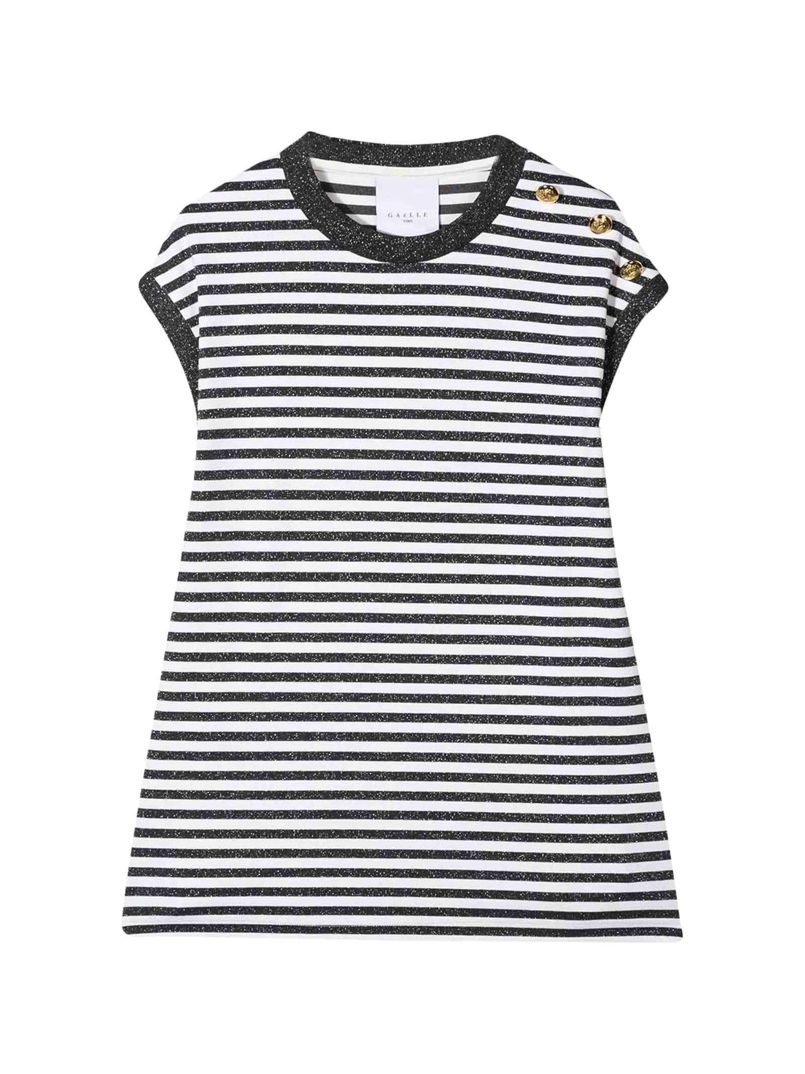 Buy Gaelle Bonheur Kids Striped Dress online, shop Gaelle Bonheur with free shipping