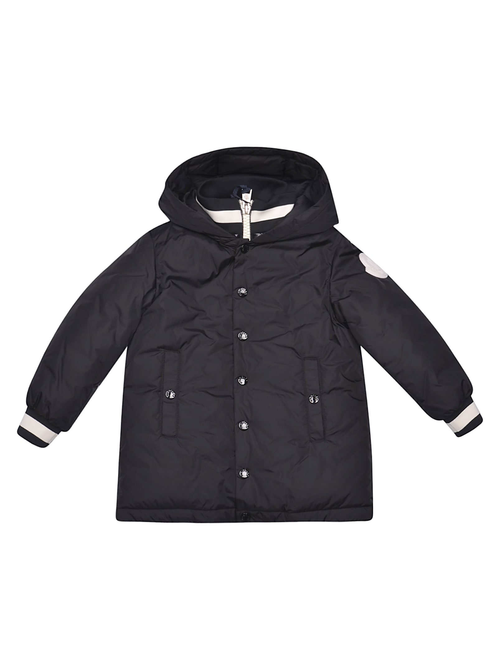 Moncler Kids' Thau Jacket In Nero
