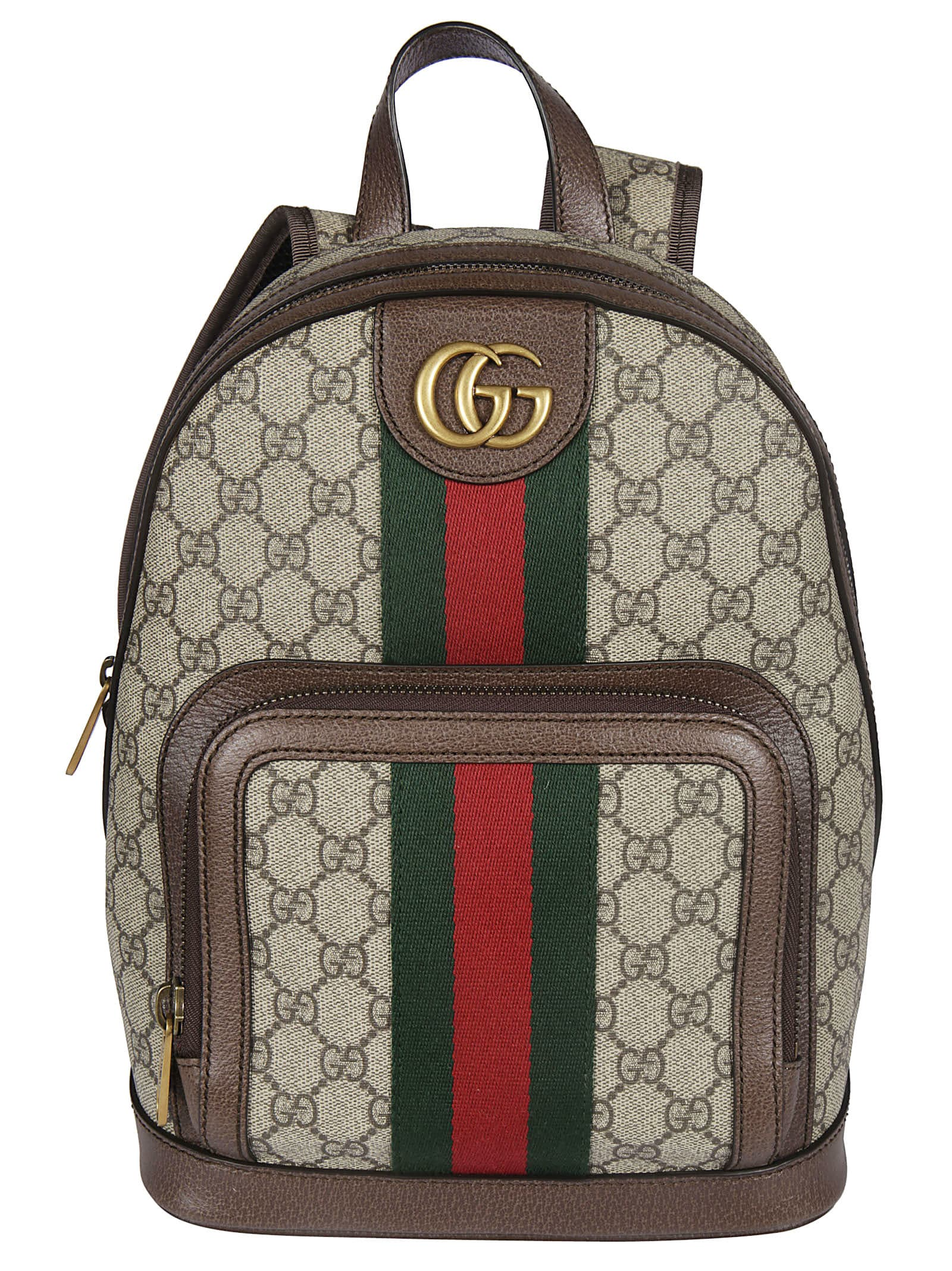 50bd85a6 Gucci Gg Supreme Backpack In Brown | ModeSens