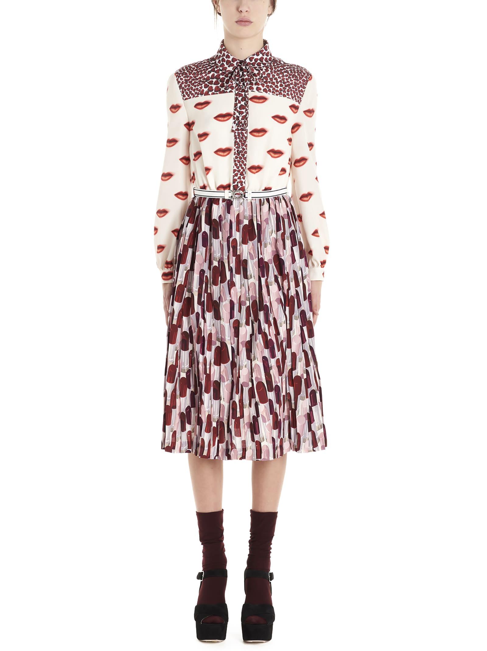 Buy Prada lipstick & Labbra Dress online, shop Prada with free shipping